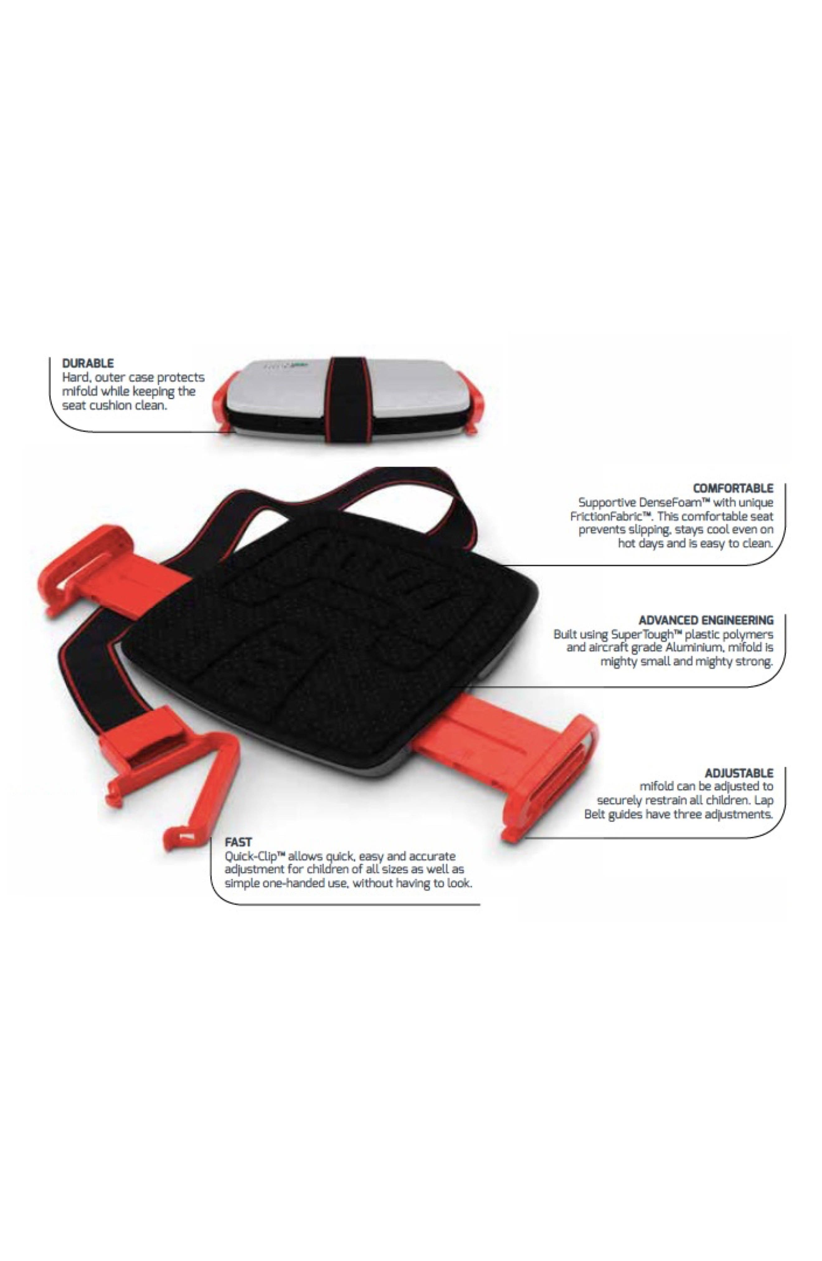 Grab-and-Go Car Booster Seat,                             Alternate thumbnail 2, color,