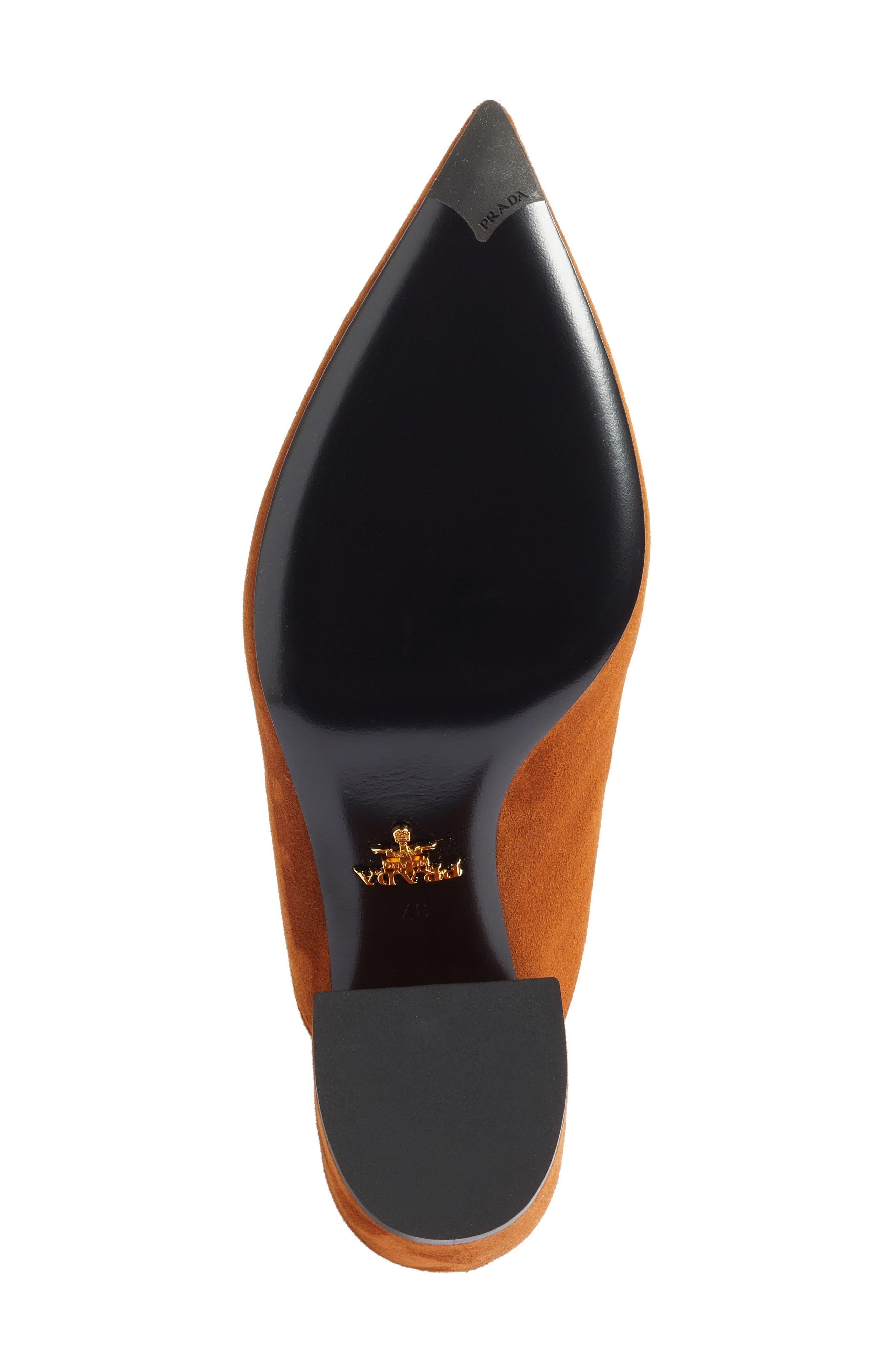 Alternate Image 6  - Prada Slant Heel Mule (Women)