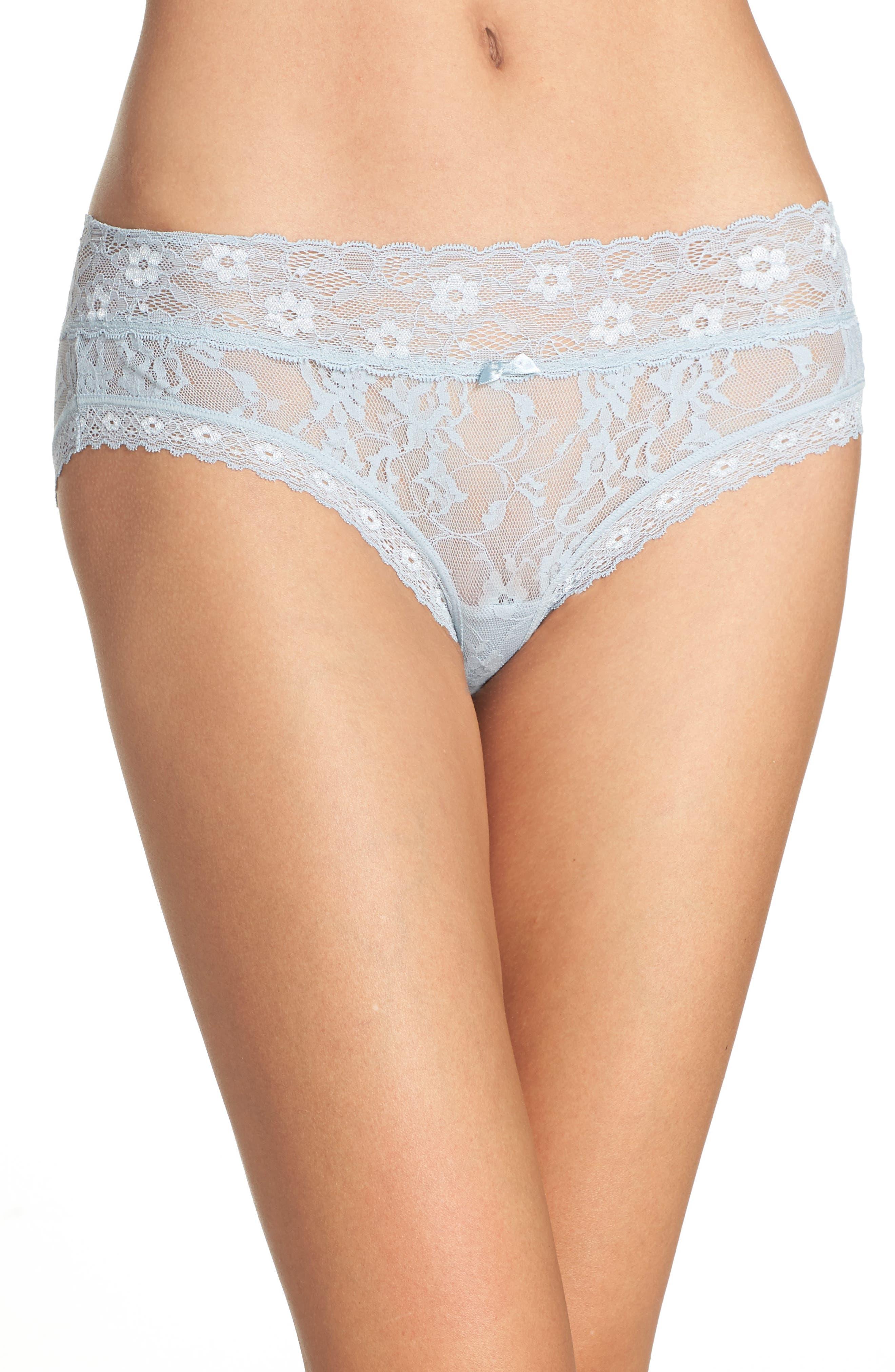 Alternate Image 1 Selected - DKNY 'Signature Lace' Bikini (3 for $30)
