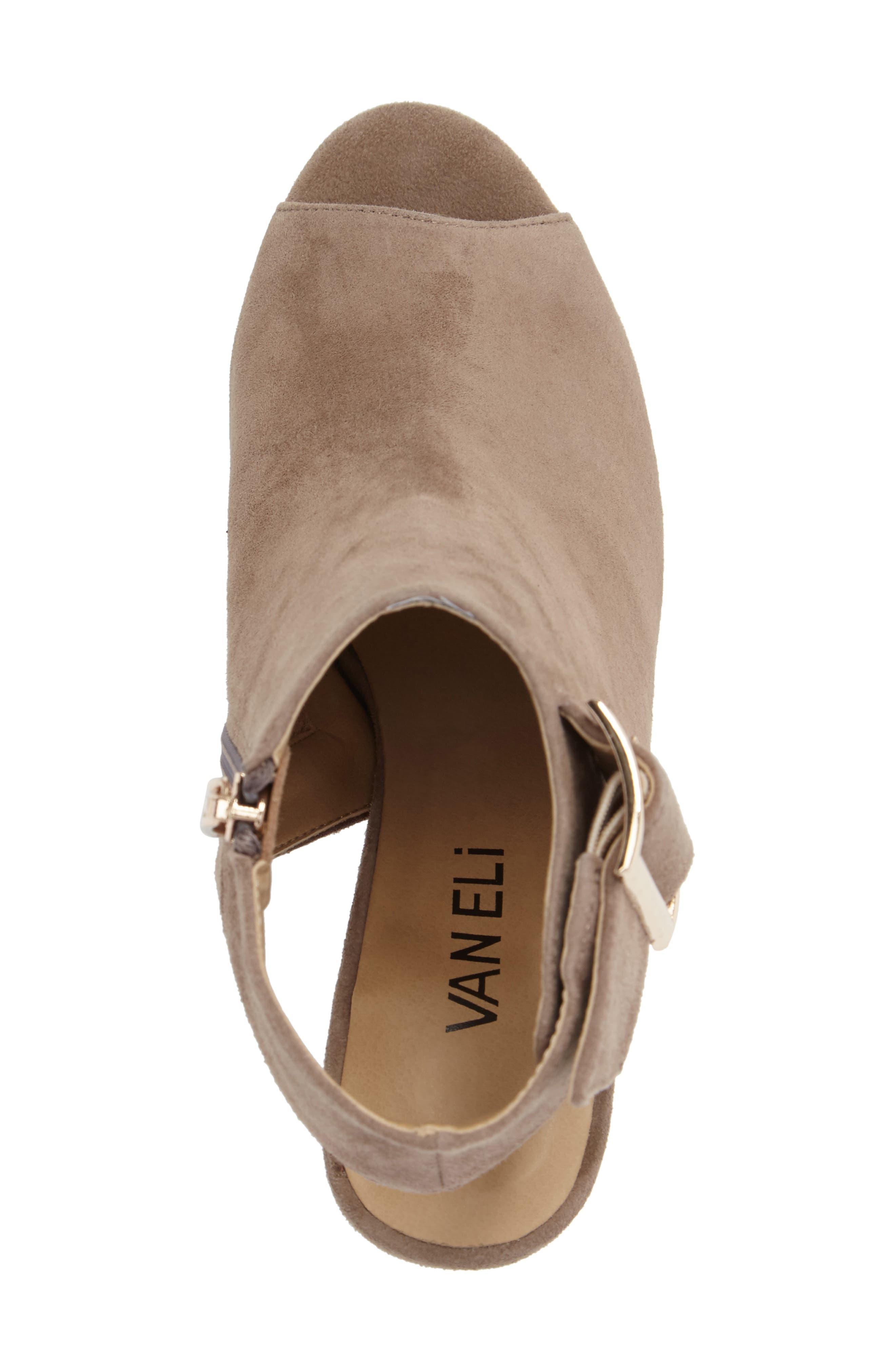 Alternate Image 5  - VANELi 'Bisa' Peep Toe Slingback Sandal (Women)