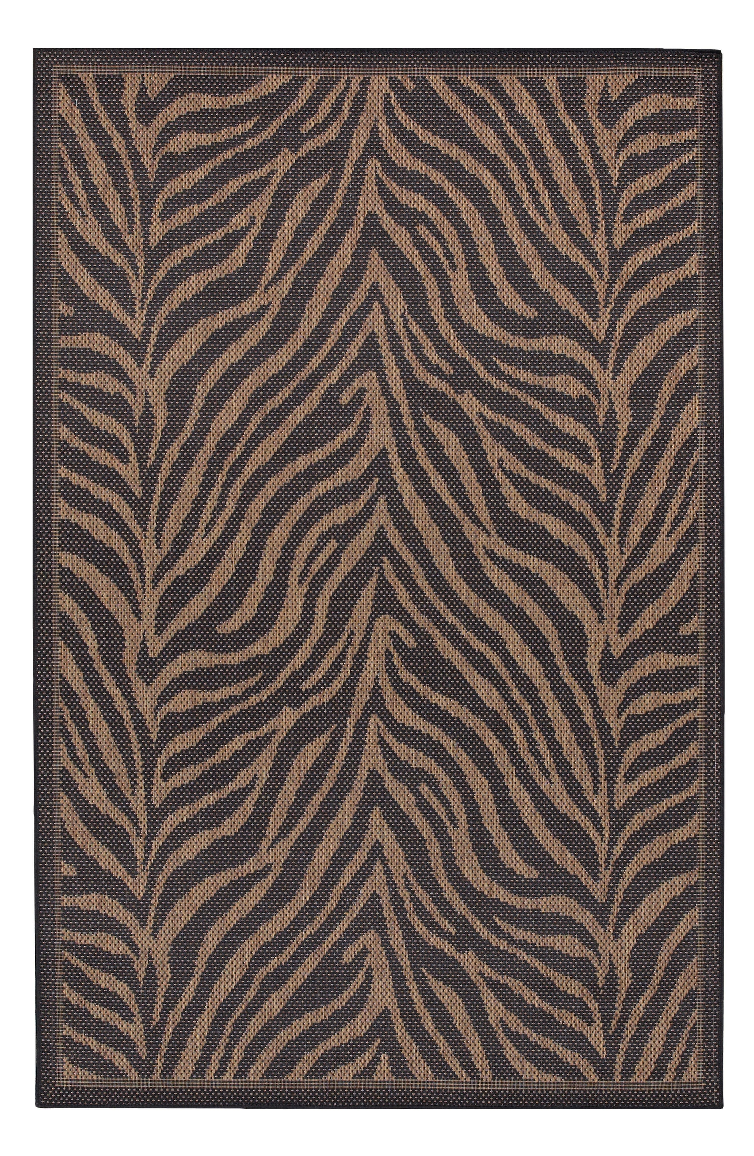 Couristan Recife Zebra Indoor/Outdoor Rug