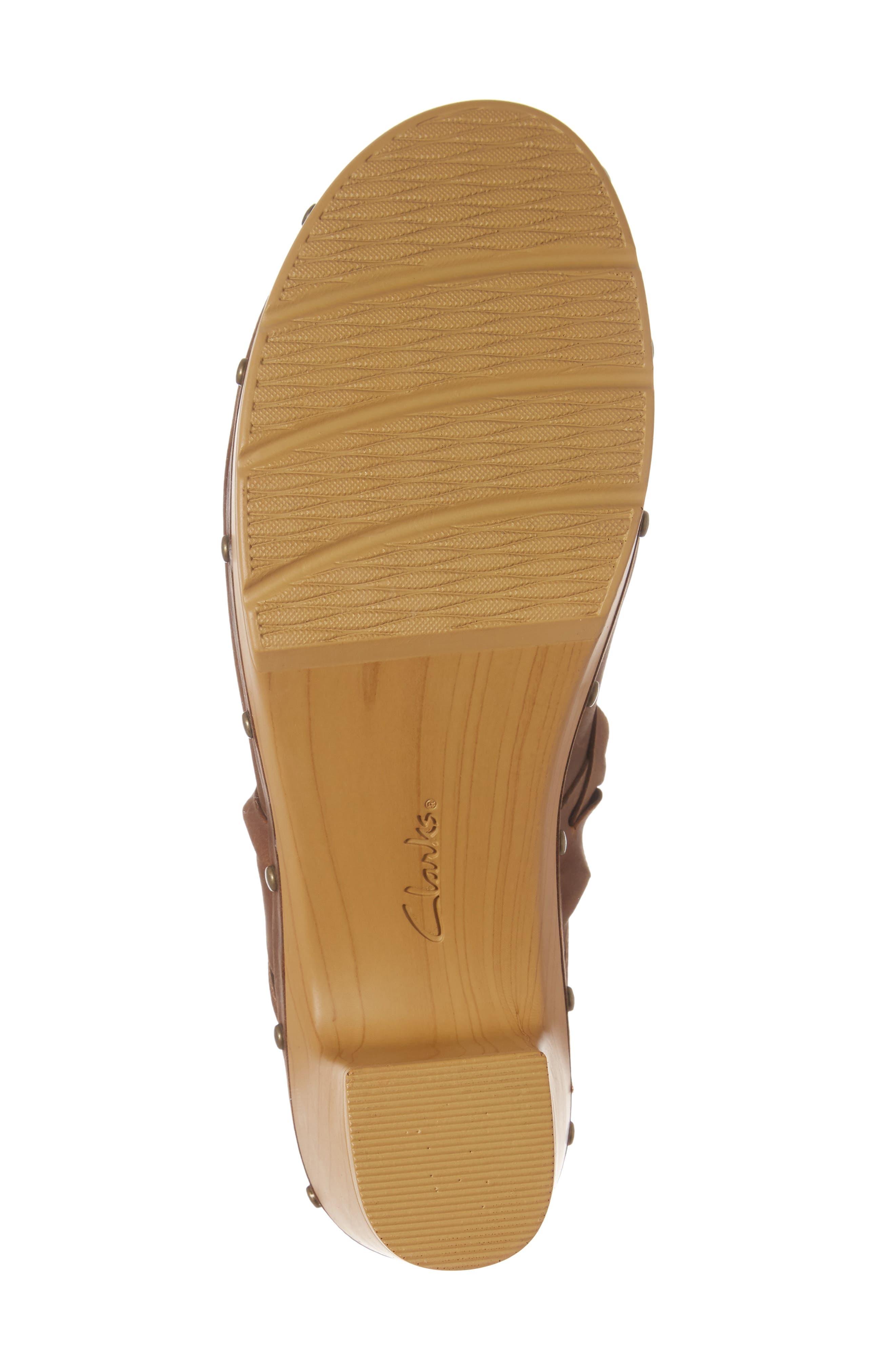 Alternate Image 6  - Clarks® Ledella Meg Platform Clog (Women)