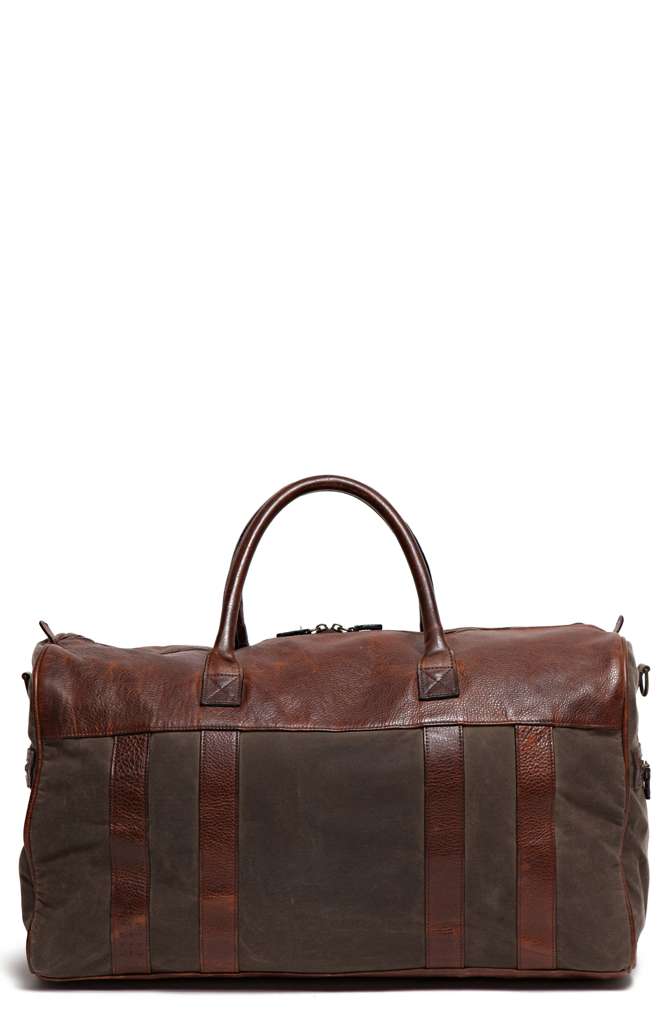 Cleland XL Duffel Bag,                             Main thumbnail 1, color,                             Waxwear Rangertan