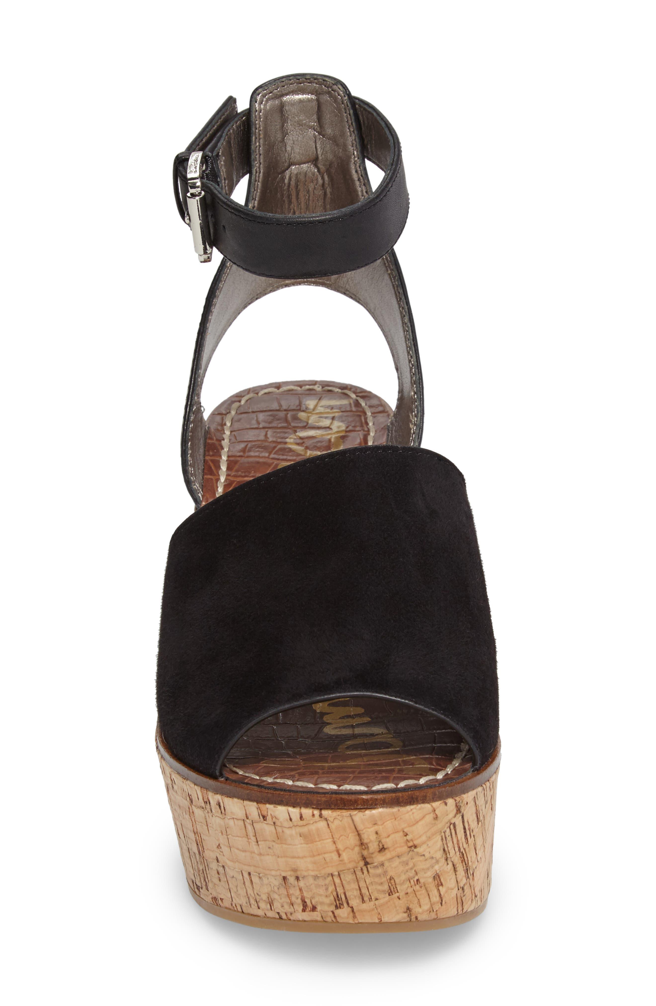 Alternate Image 4  - Sam Edelman Devin Platform Wedge Sandal (Women)