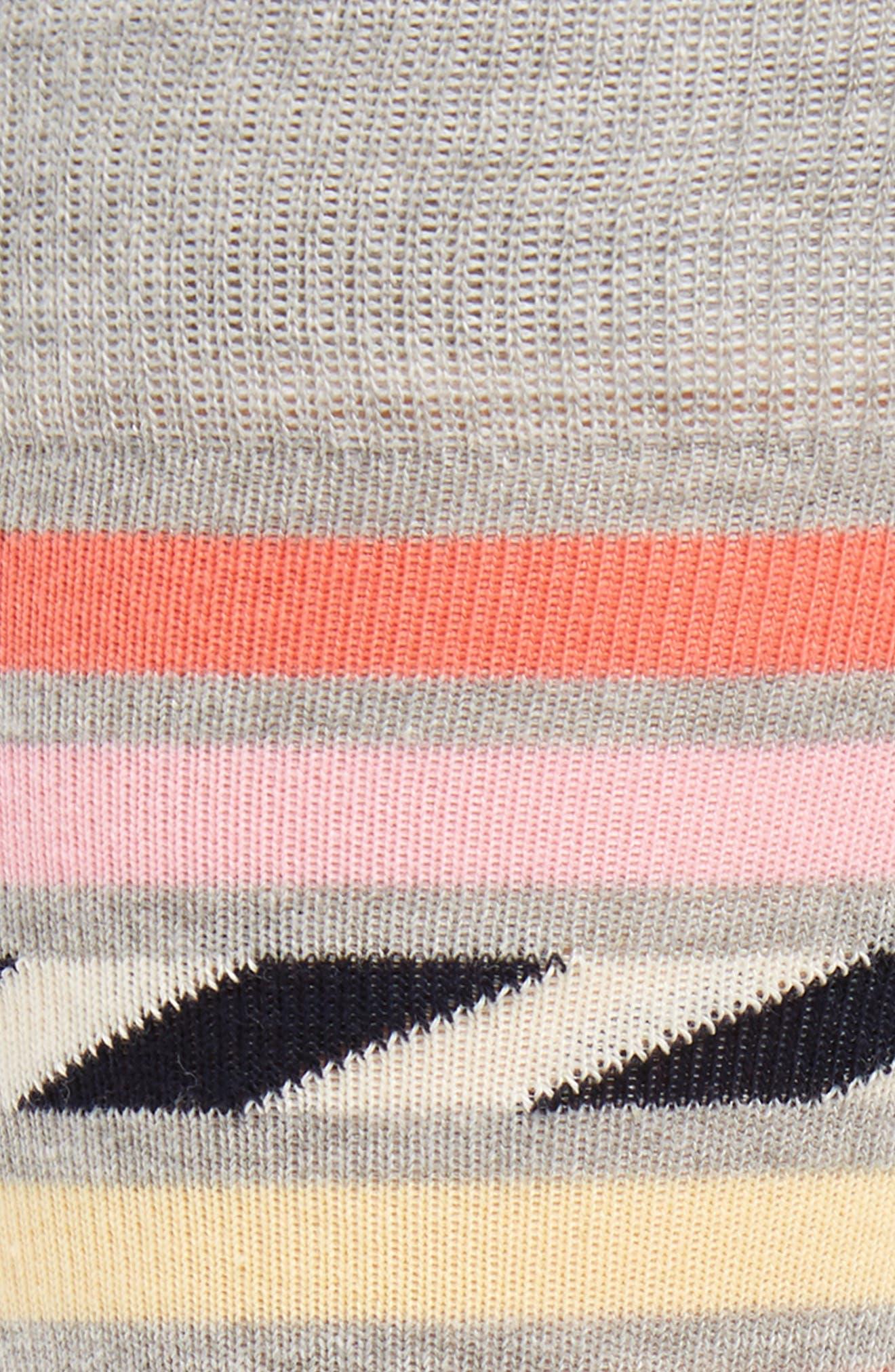 Alternate Image 2  - Happy Socks Stripe Cotton Blend Socks (3 for $30)