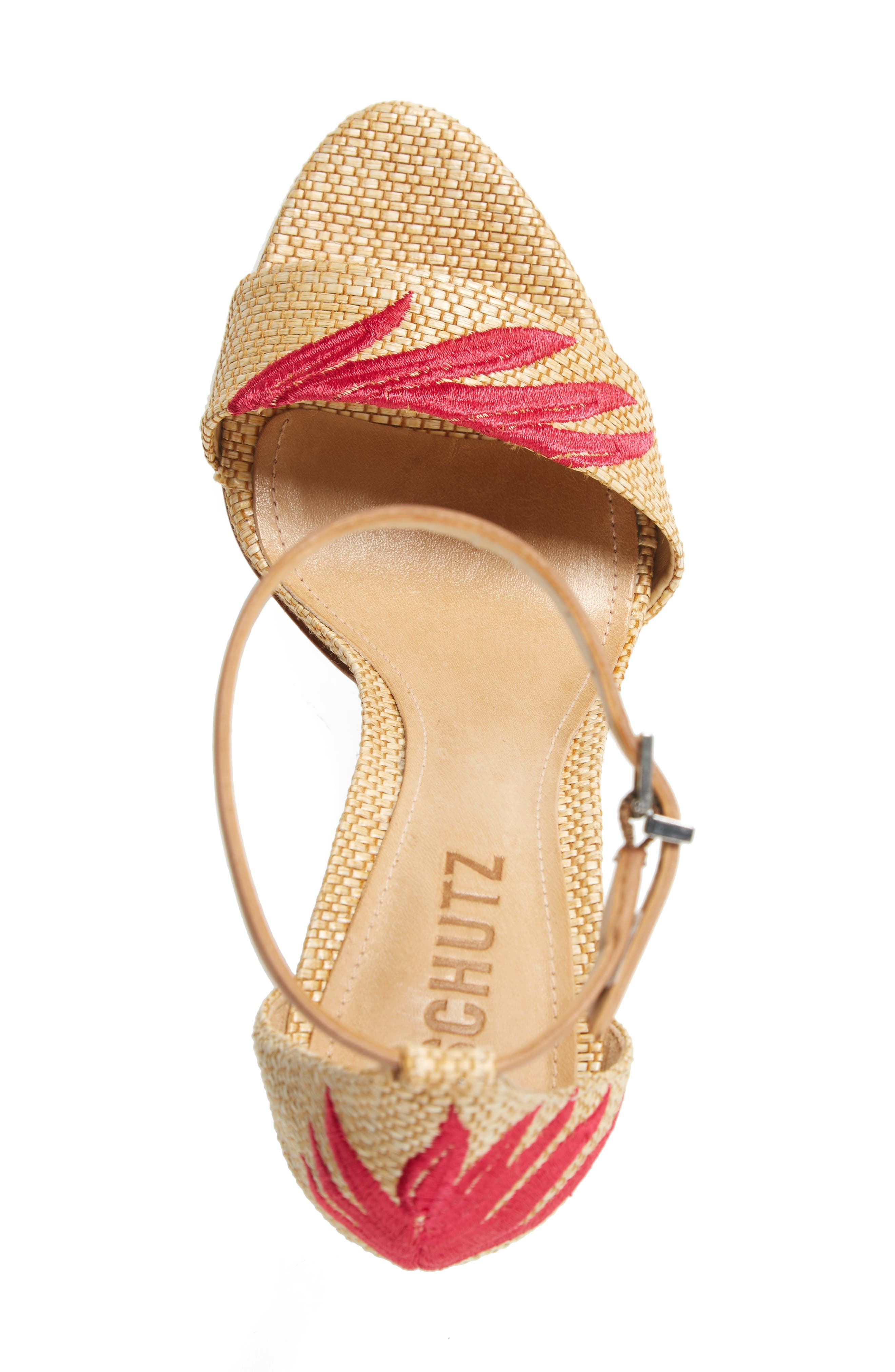 Alternate Image 5  - Schutz Carolaine Woven Sandal (Women)
