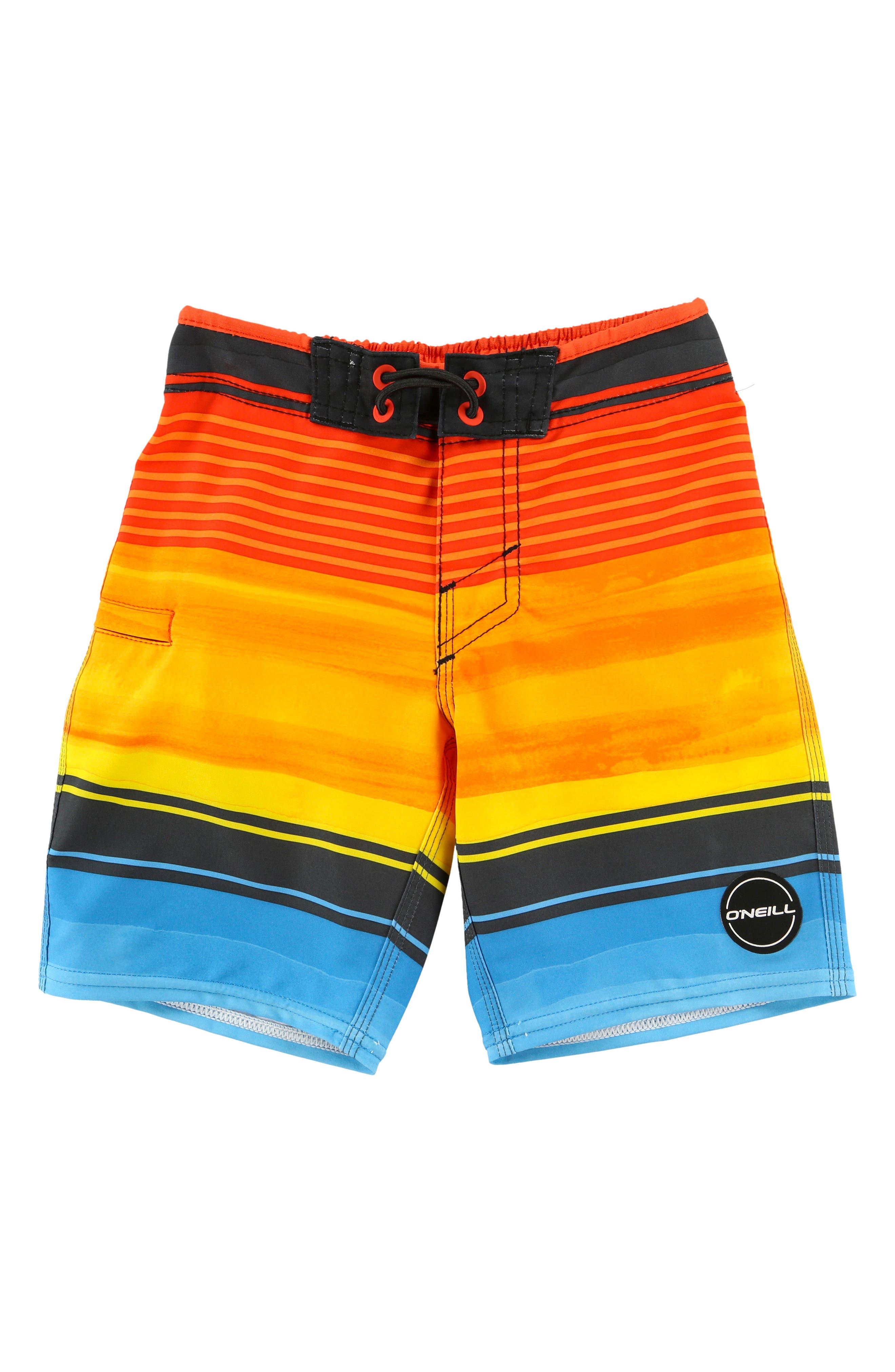 Hyperfreak Heist Board Shorts,                         Main,                         color, Orange