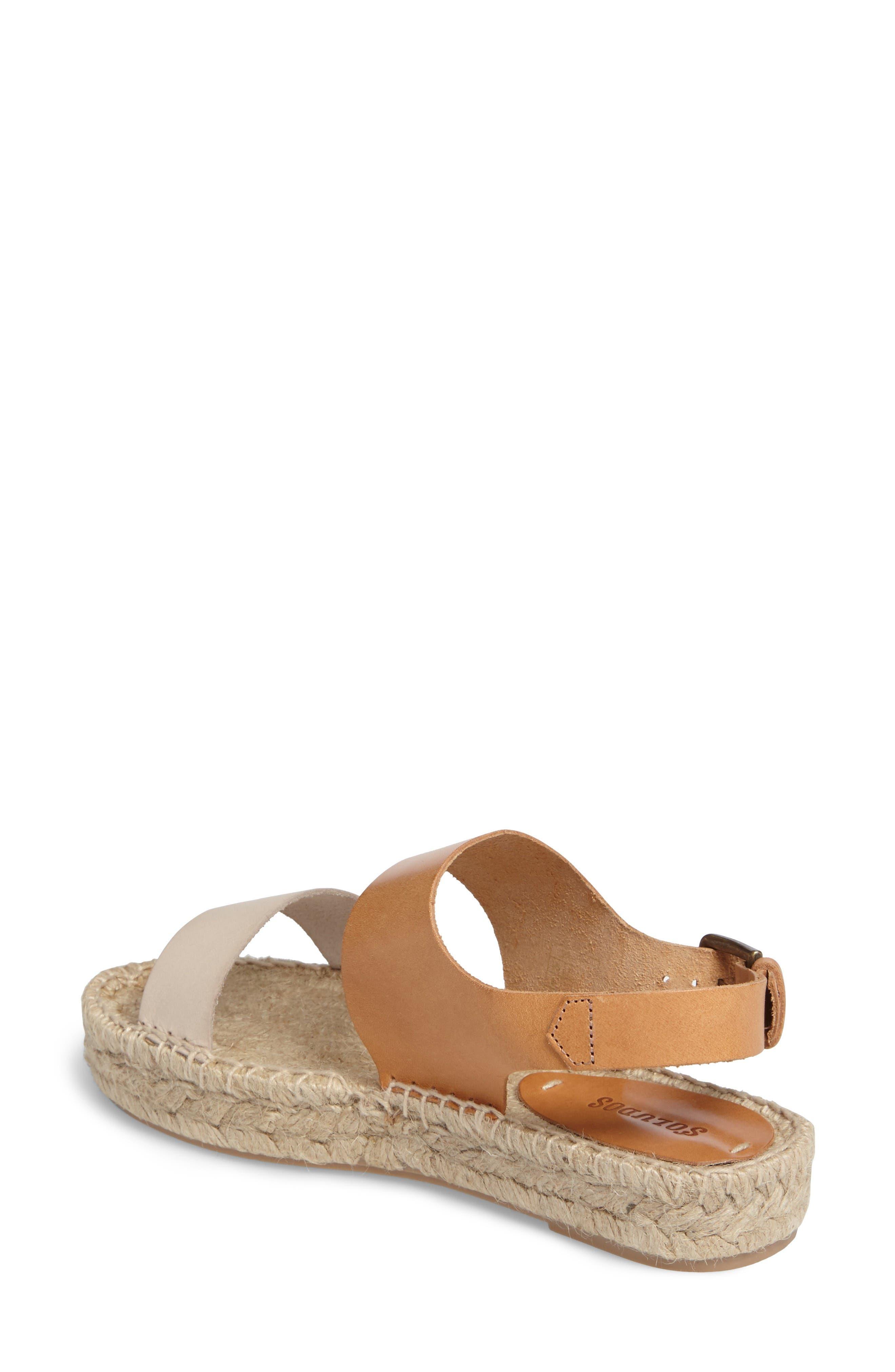 Alternate Image 2  - Soludos Platform Espadrille Sandal (Women)