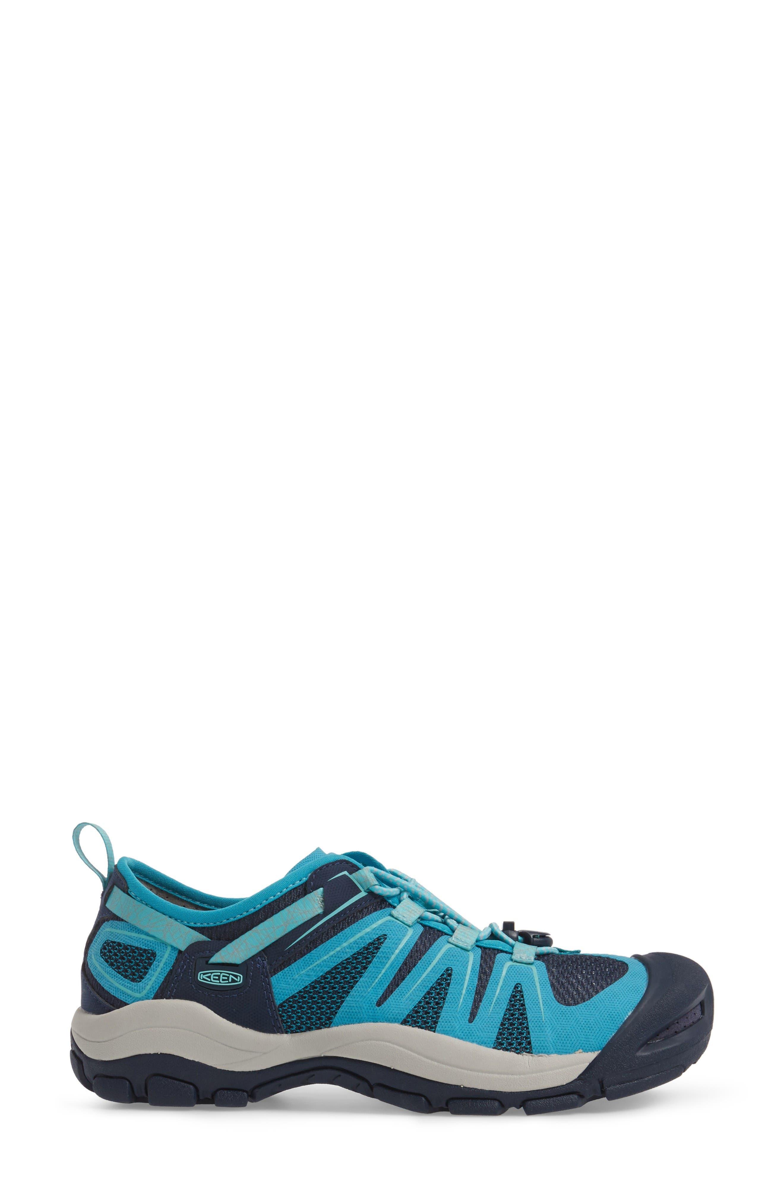 McKenzie II Waterproof Sneaker,                             Alternate thumbnail 3, color,                             Dress Blues/ Algiers Fabric