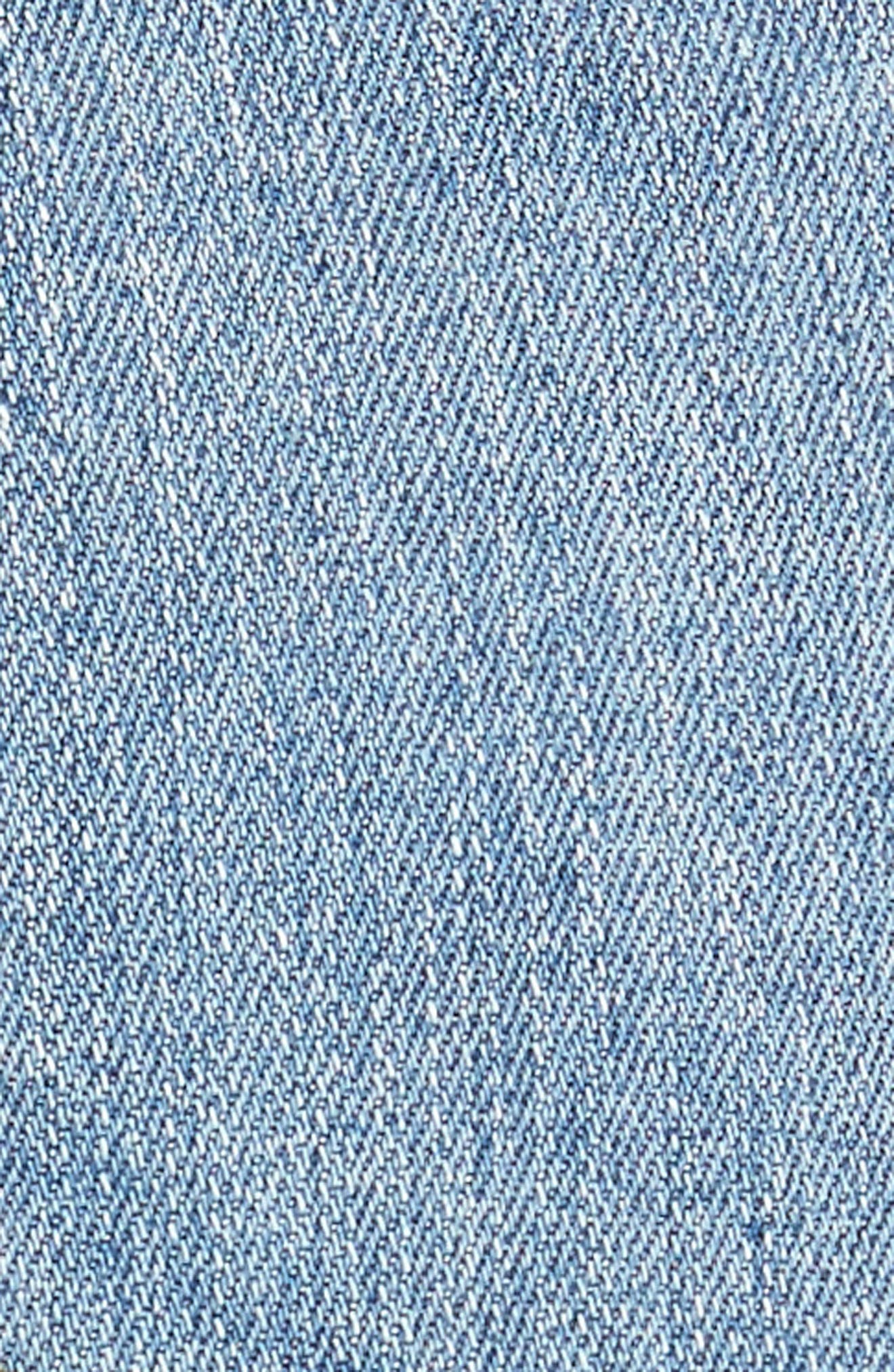 Alternate Image 5  - STS Blue Rose Bowl Denim Shorts (Westmoreland)