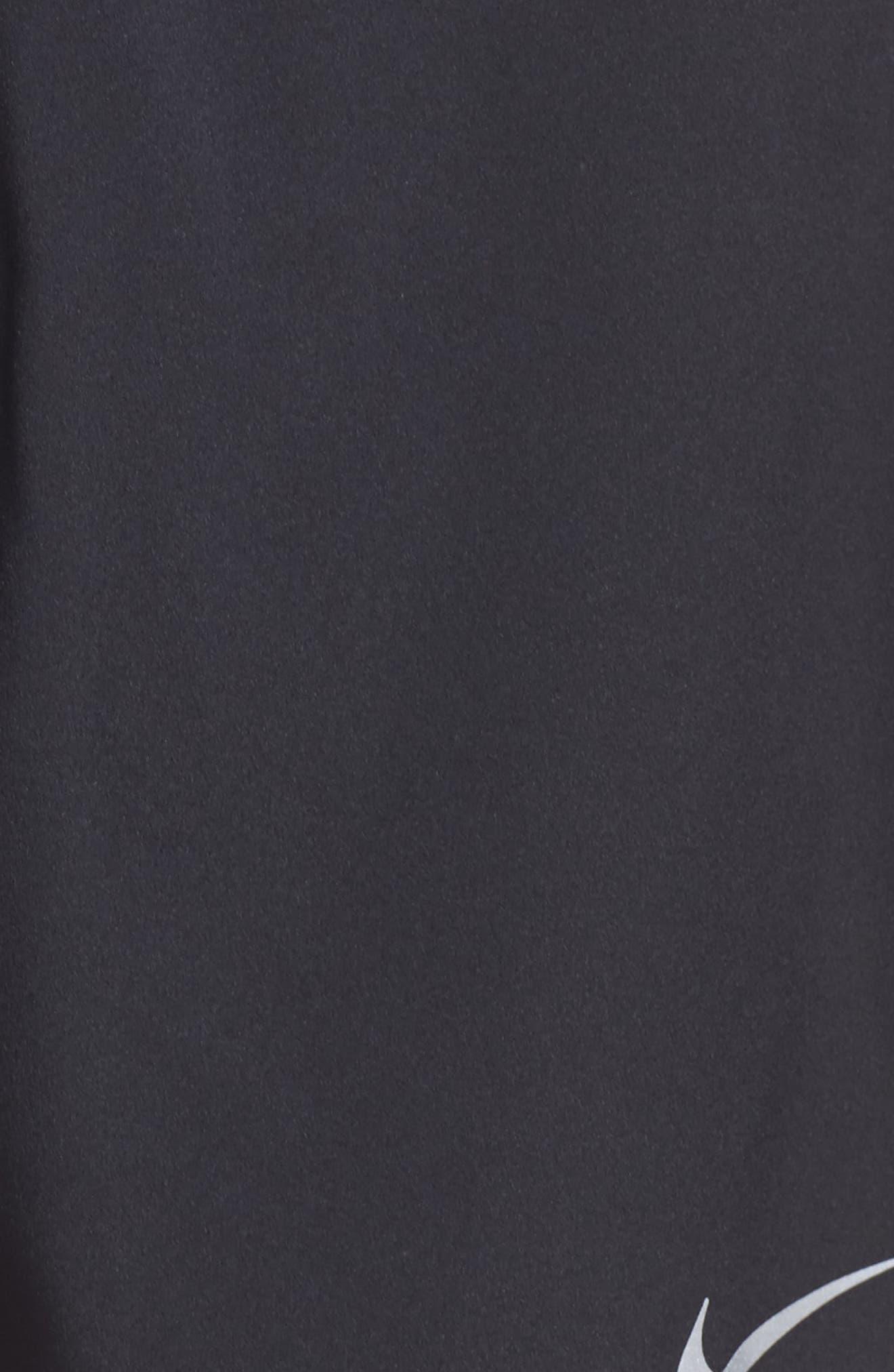 Flex Running Shorts,                             Alternate thumbnail 5, color,                             Black
