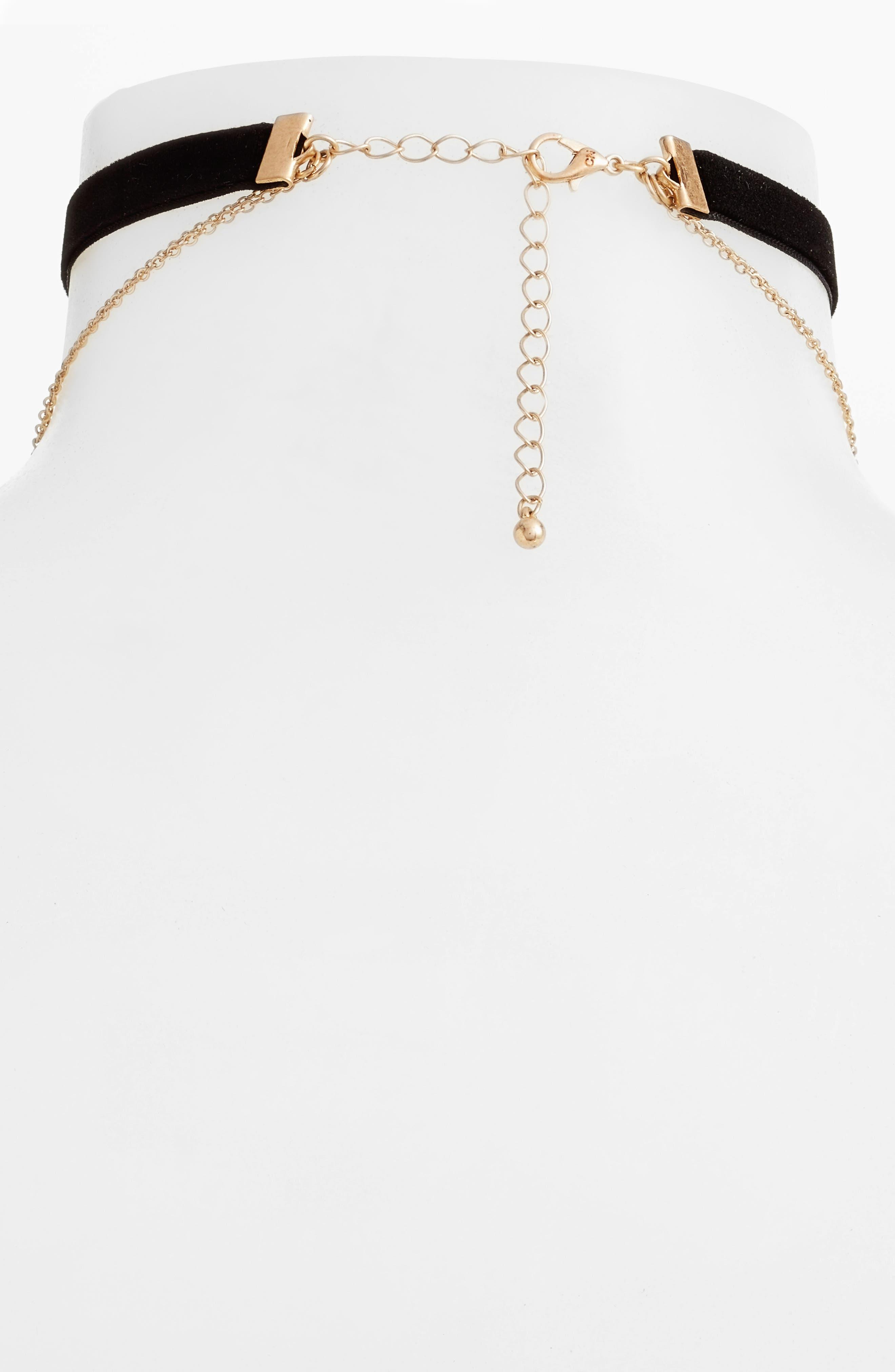 Alternate Image 2  - Danielle Nicole Momji Layered Choker Necklace