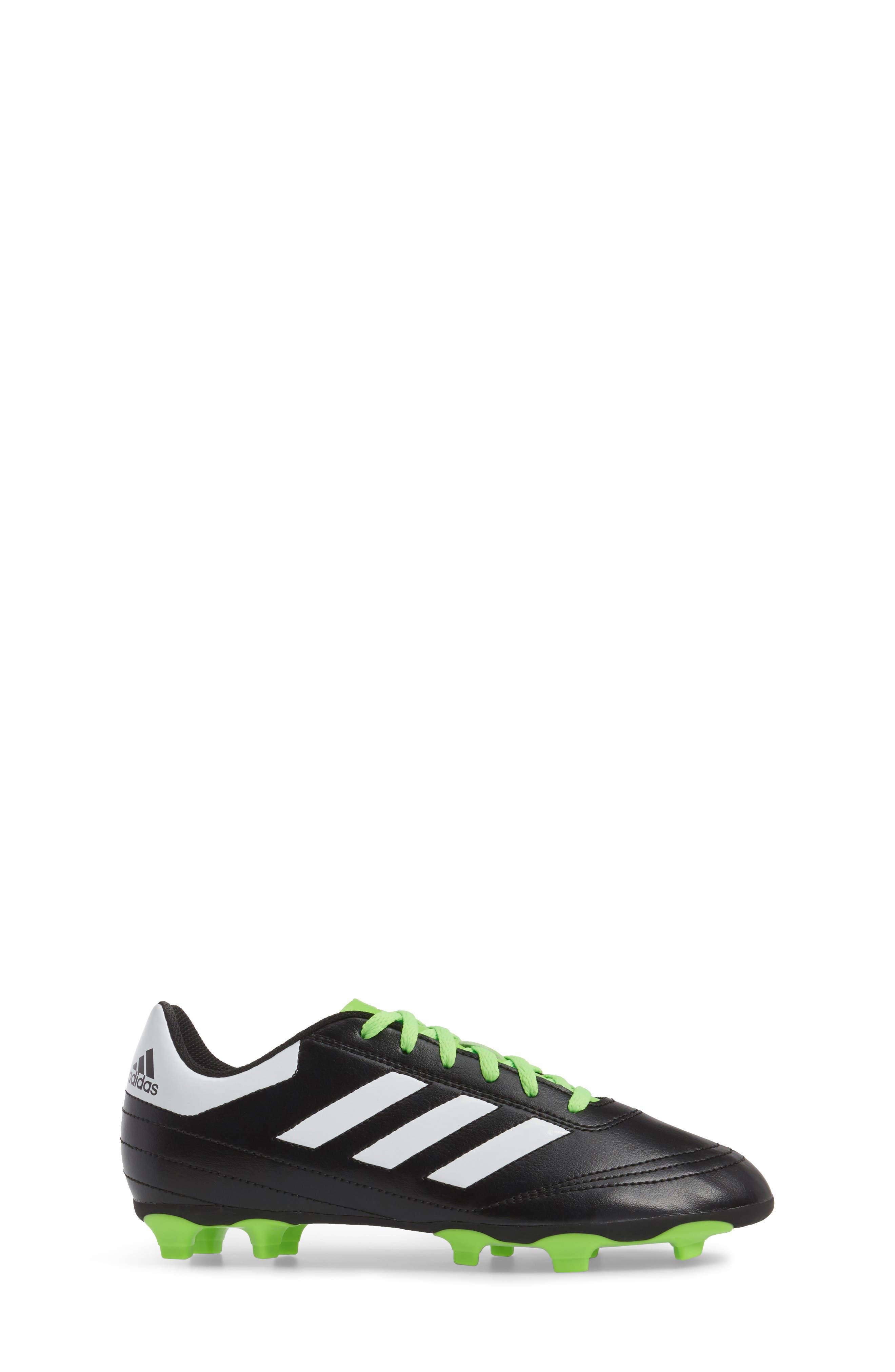 Alternate Image 2  - adidas Goletto VI Soccer Shoe (Toddler, Little Kid & Big Kid)