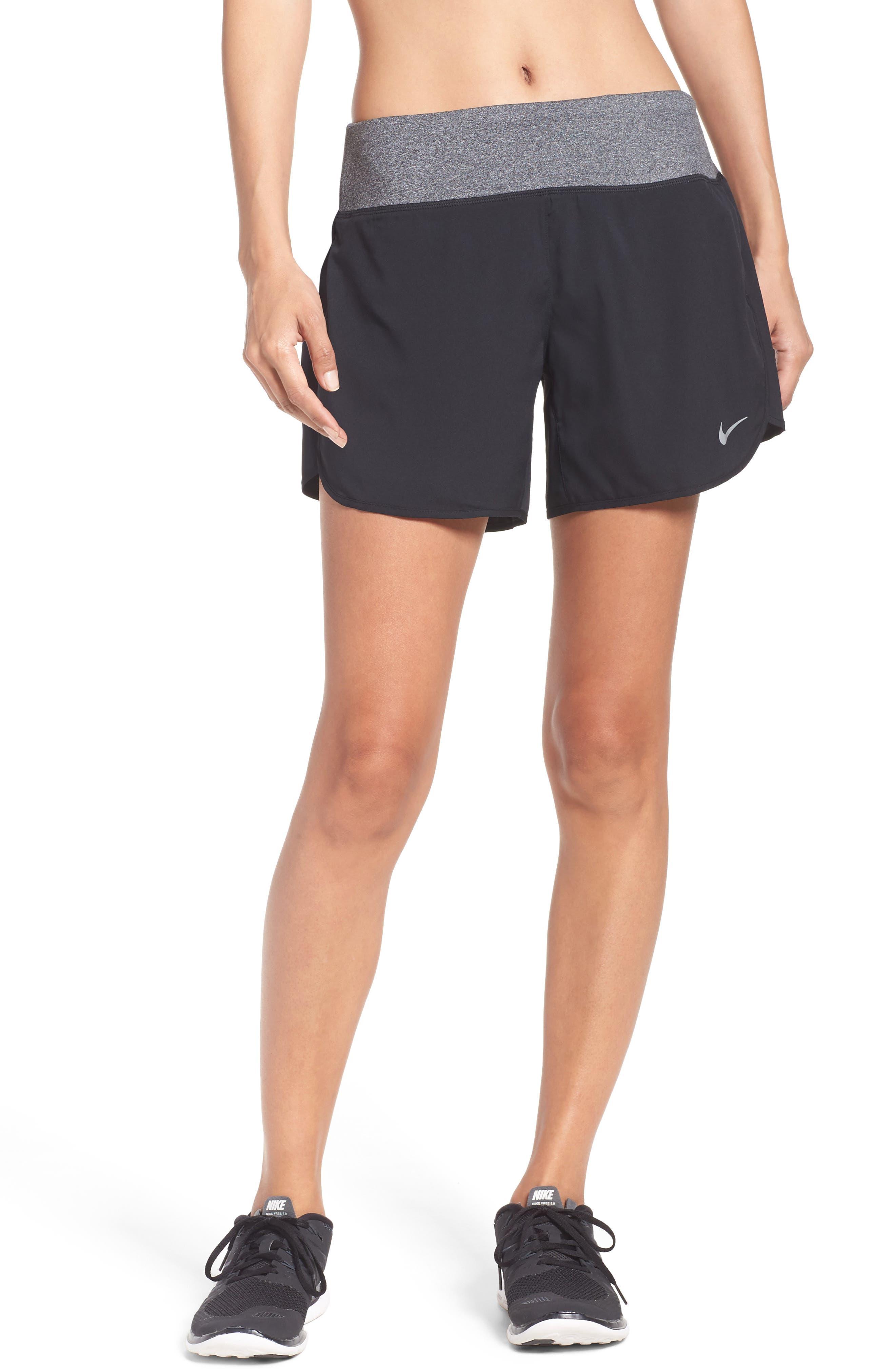 Flex Running Shorts,                             Main thumbnail 1, color,                             Black