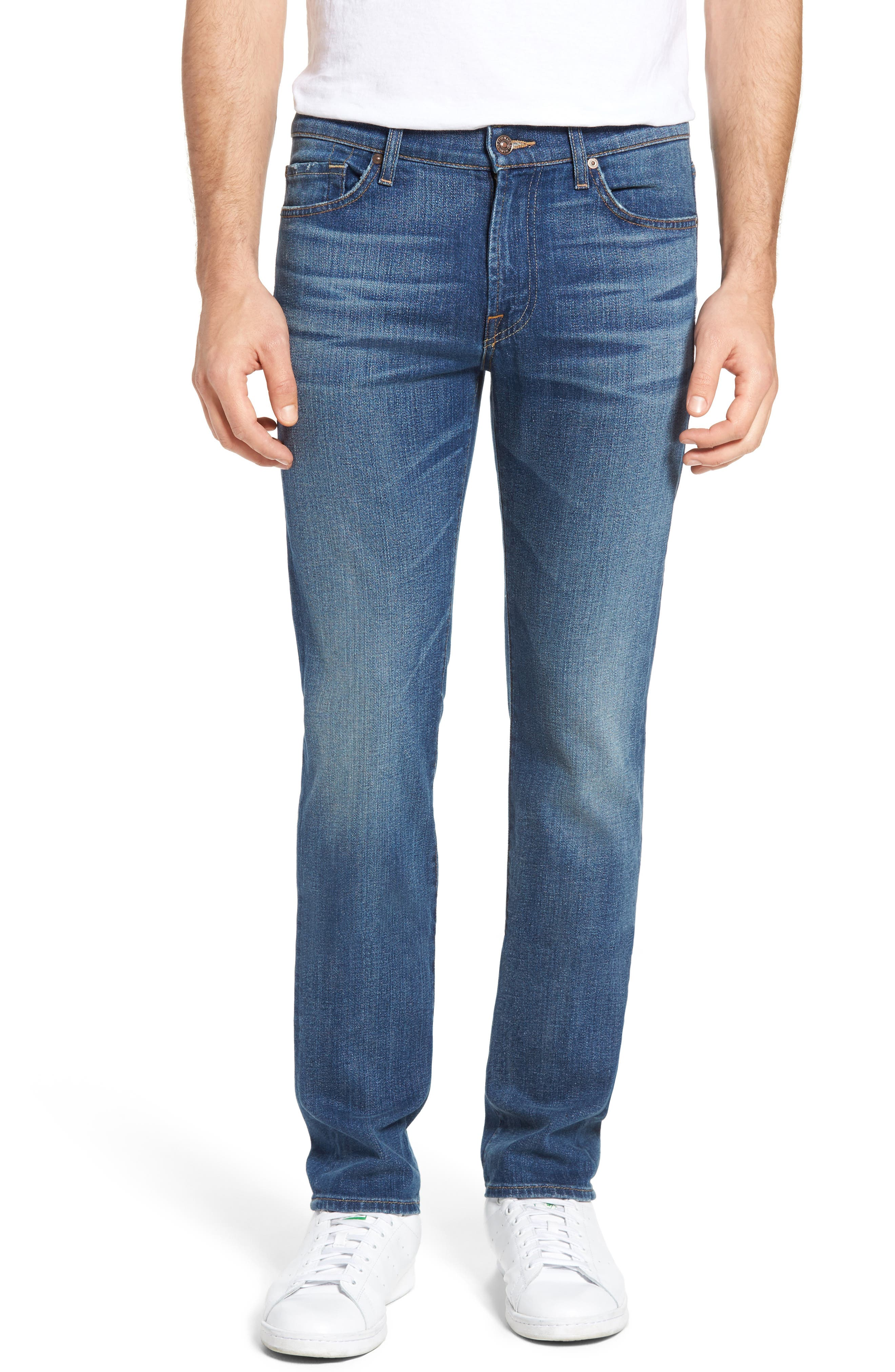 7 For All Mankind® Slimmy Slim Fit Jeans (Sixties Vintage)