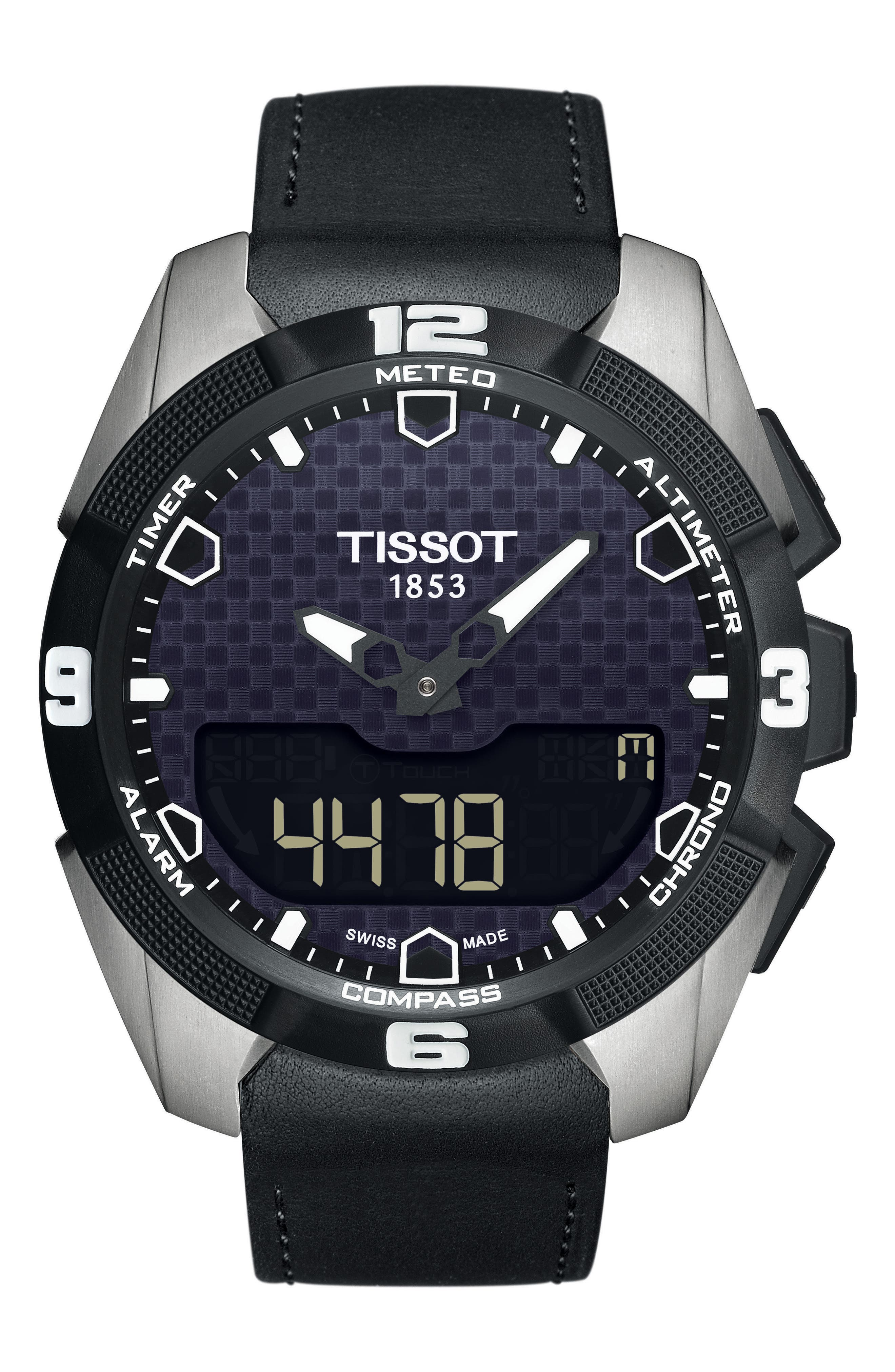 Alternate Image 1 Selected - Tissot T-Touch Expert Solar Multifunction Smartwatch, 45mm