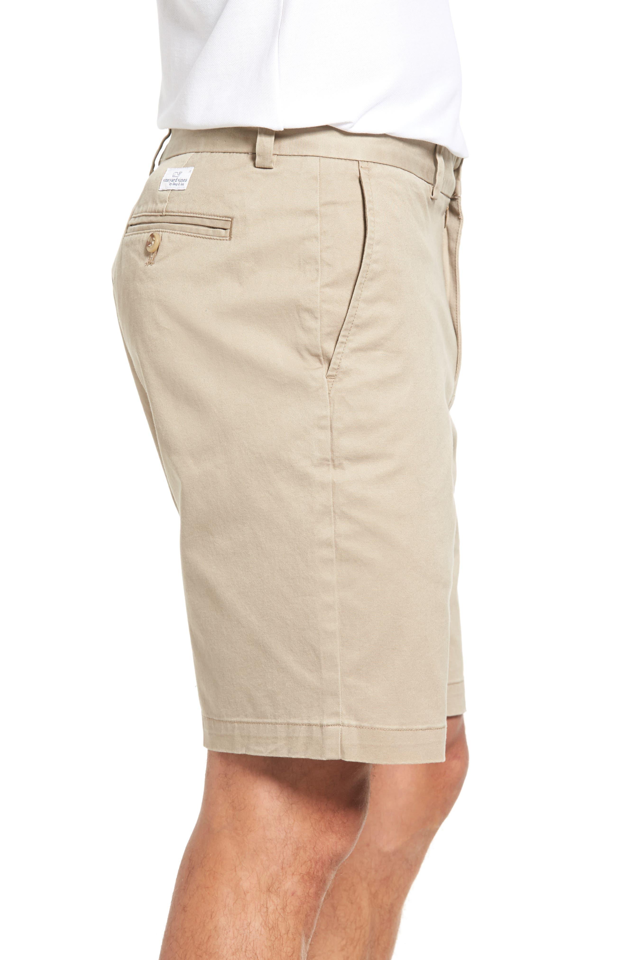9 Inch Stretch Breaker Shorts,                             Alternate thumbnail 3, color,                             Khaki