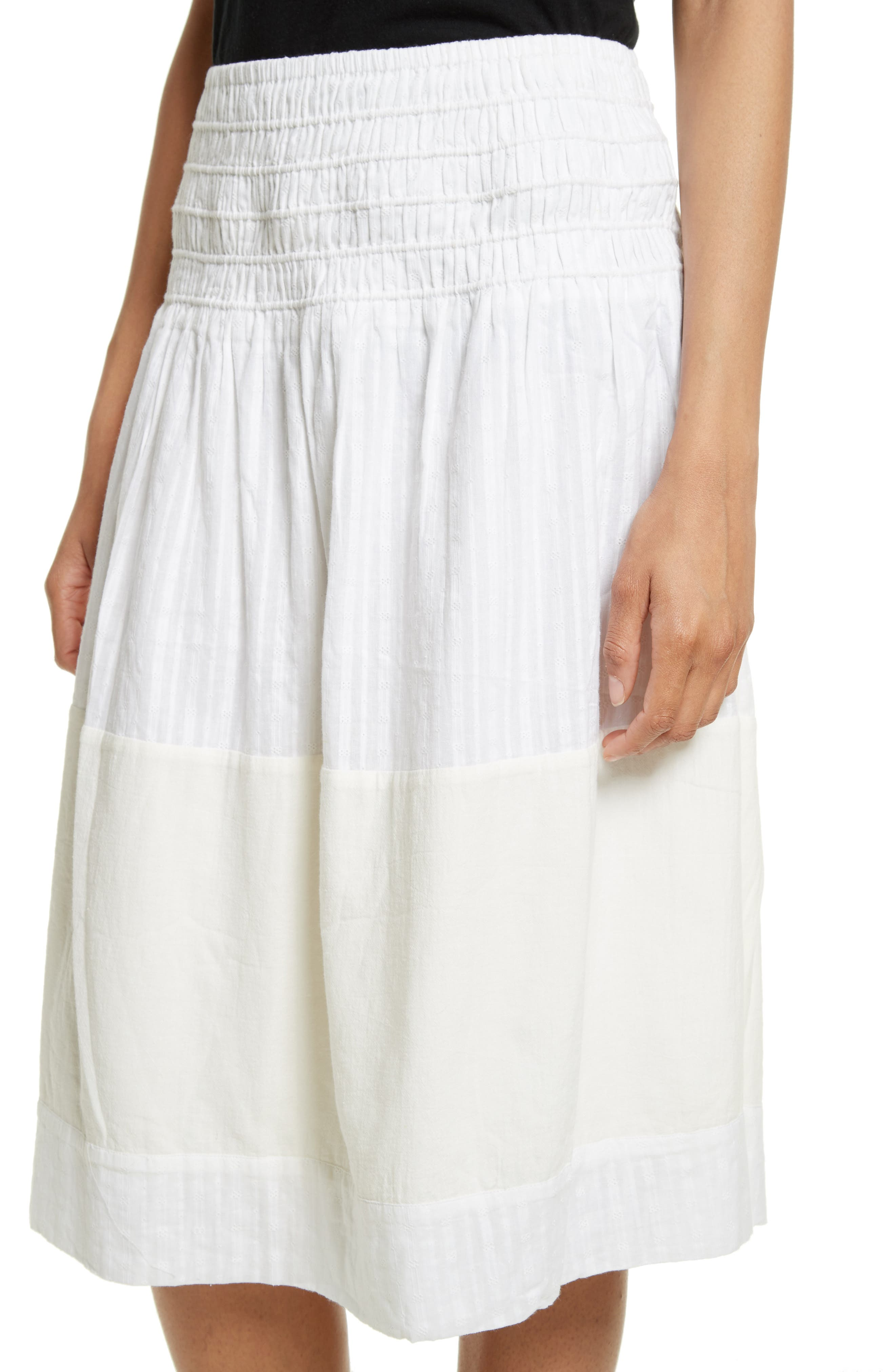The Afternoon Skirt,                             Alternate thumbnail 5, color,                             Off White