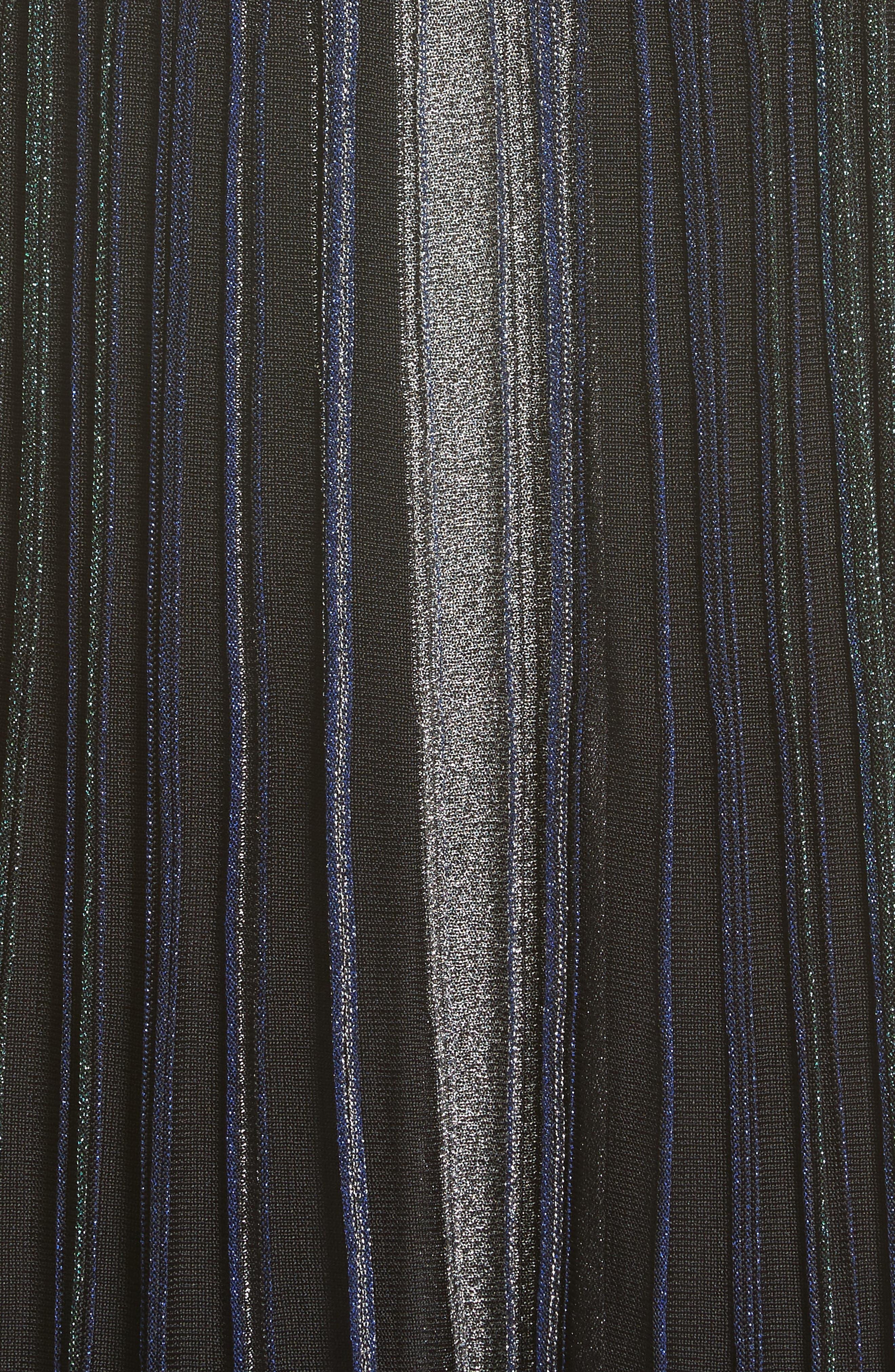 Alternate Image 4  - Missoni Reversible Metallic Rib Knit Dress
