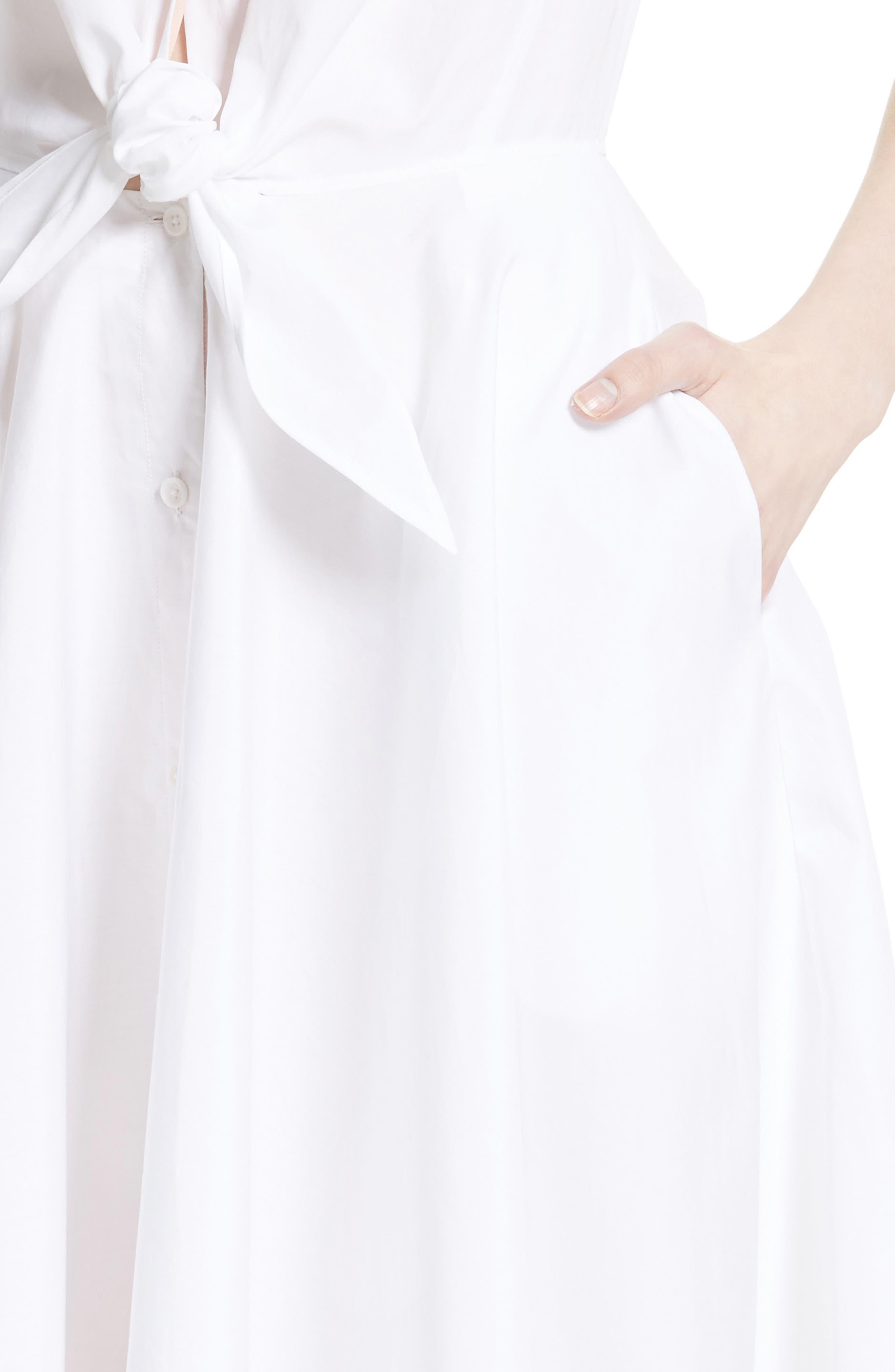 Alternate Image 4  - Diane von Furstenberg Cotton Shirtdress