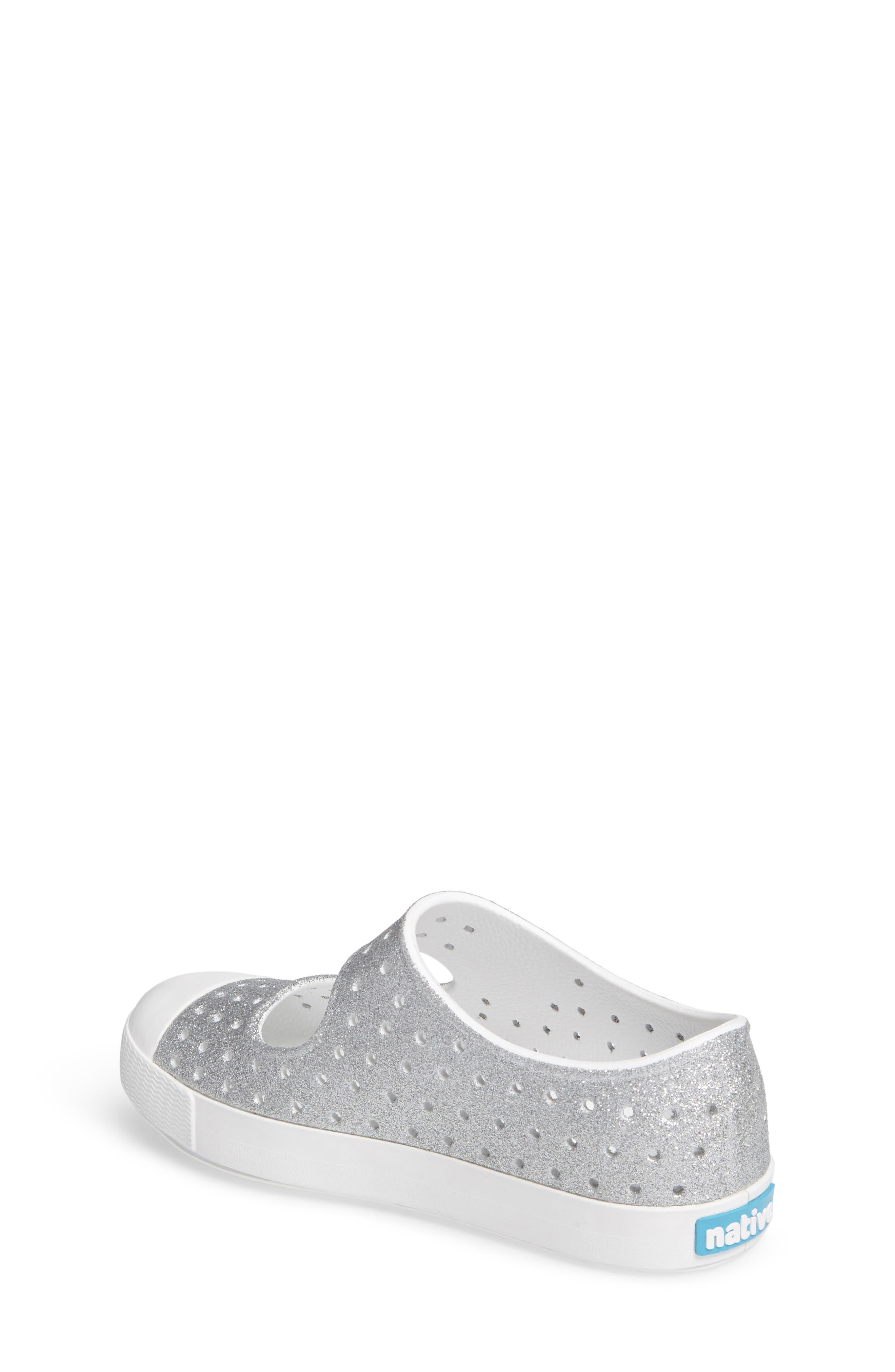 Alternate Image 2  - Native Shoes Juniper Bling Perforated Mary Jane (Baby, Walker, Toddler & Little Kid)