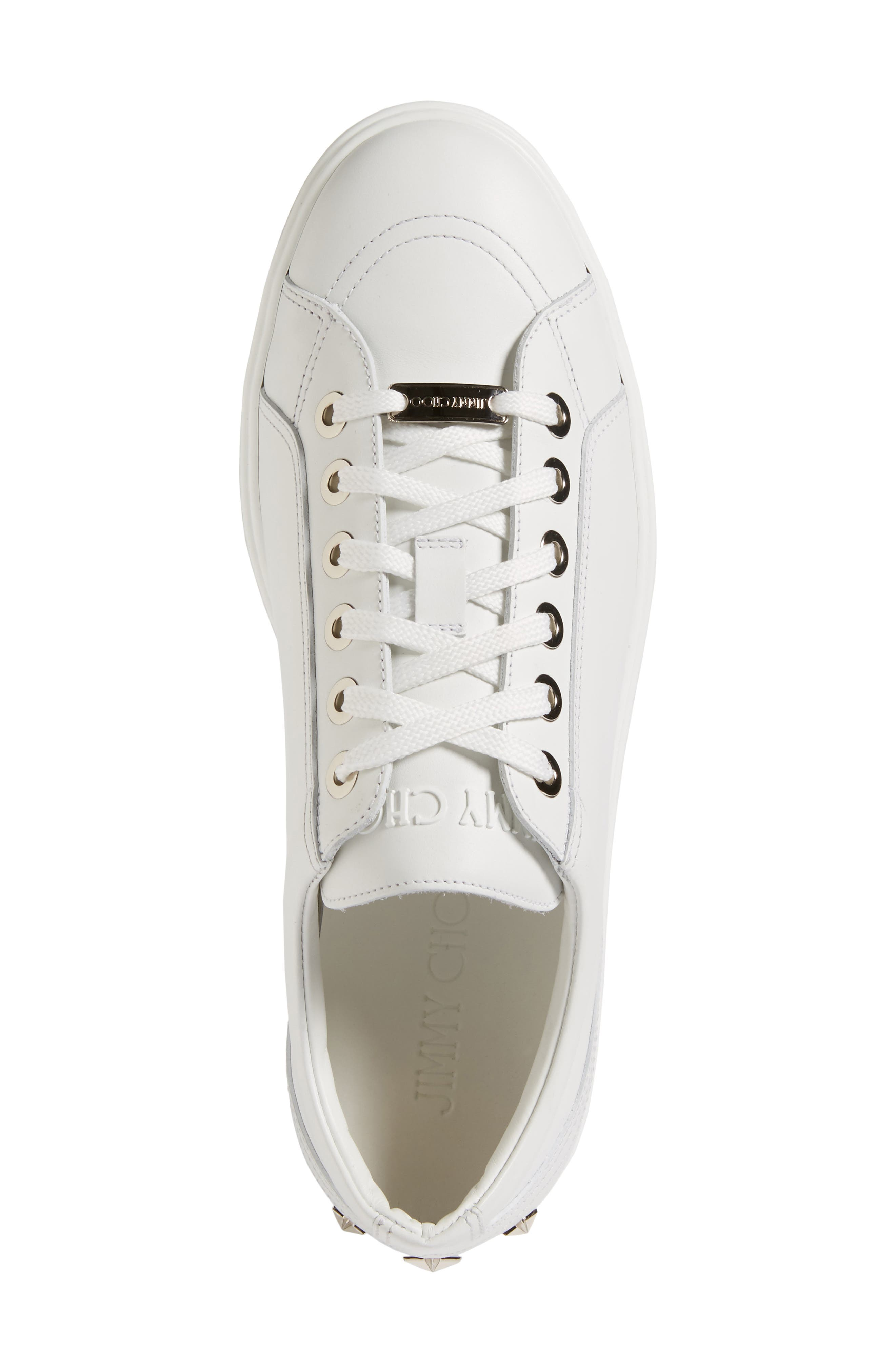 Cash Star Sneaker,                             Alternate thumbnail 5, color,                             Ultra White