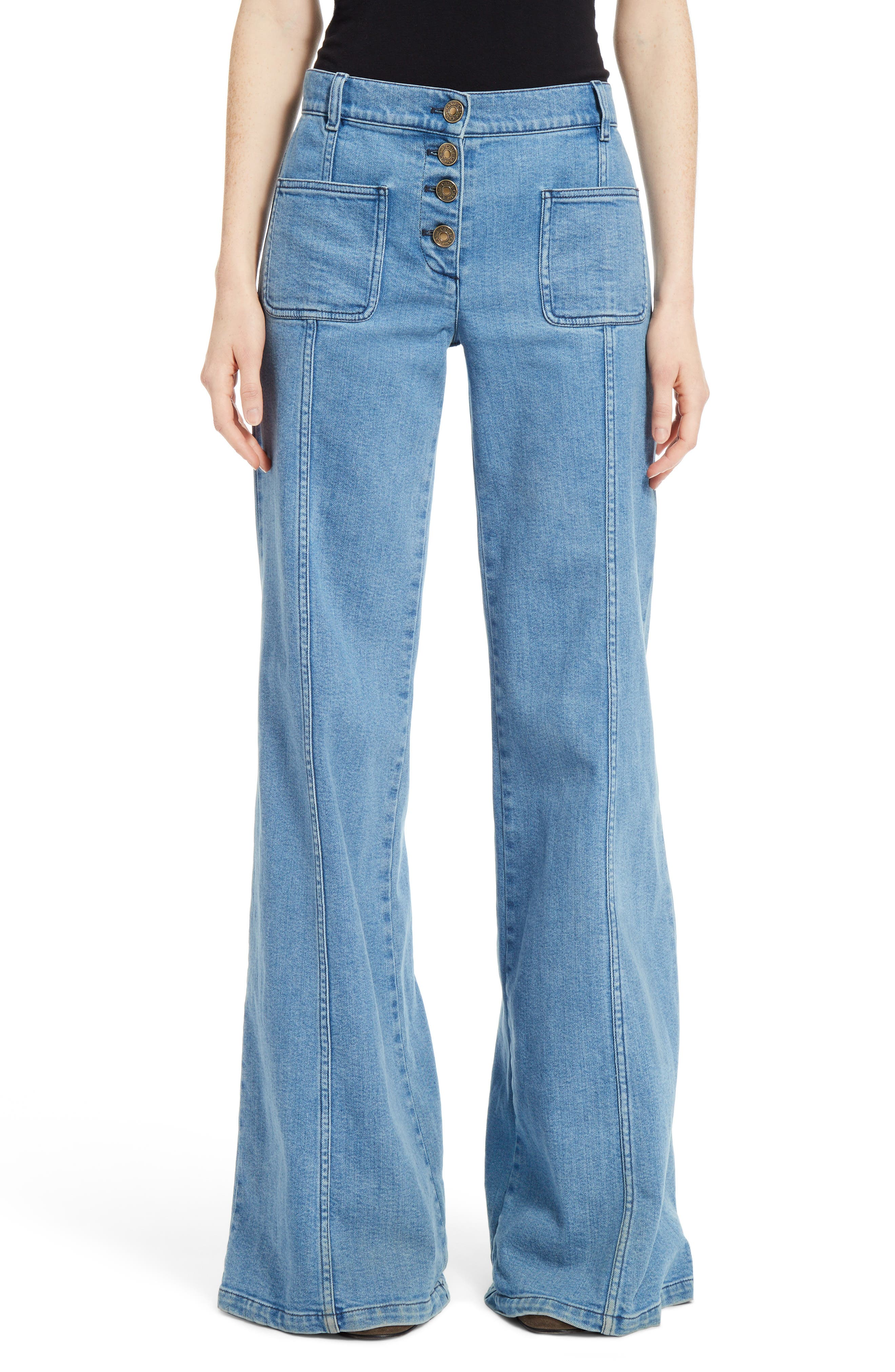 Chloé Flare Jeans