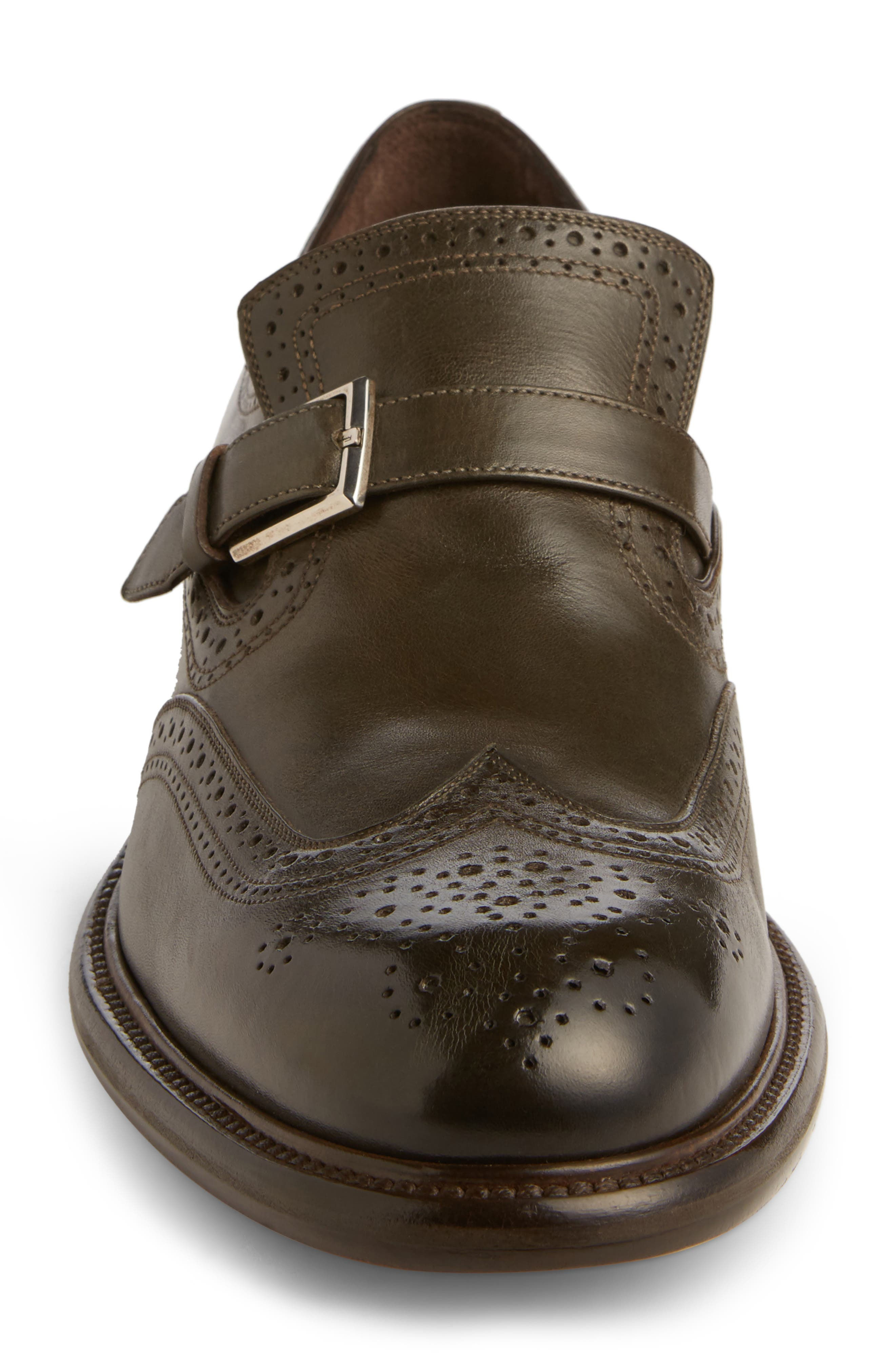 Alternate Image 4  - Salvatore Ferragamo Monk Strap Shoe (Men)