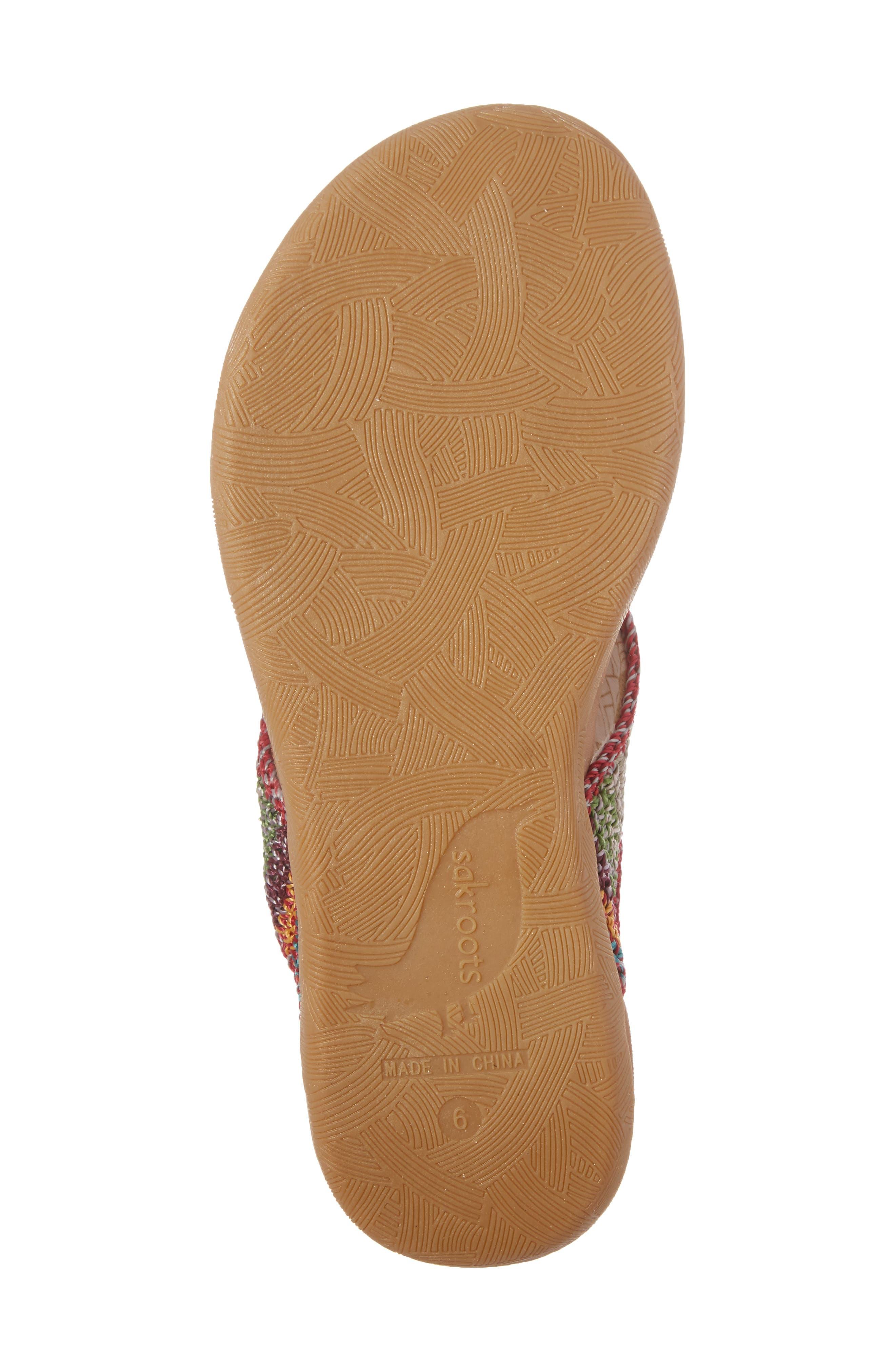 Alternate Image 6  - Sakroots Sarria Flip Flop (Women)
