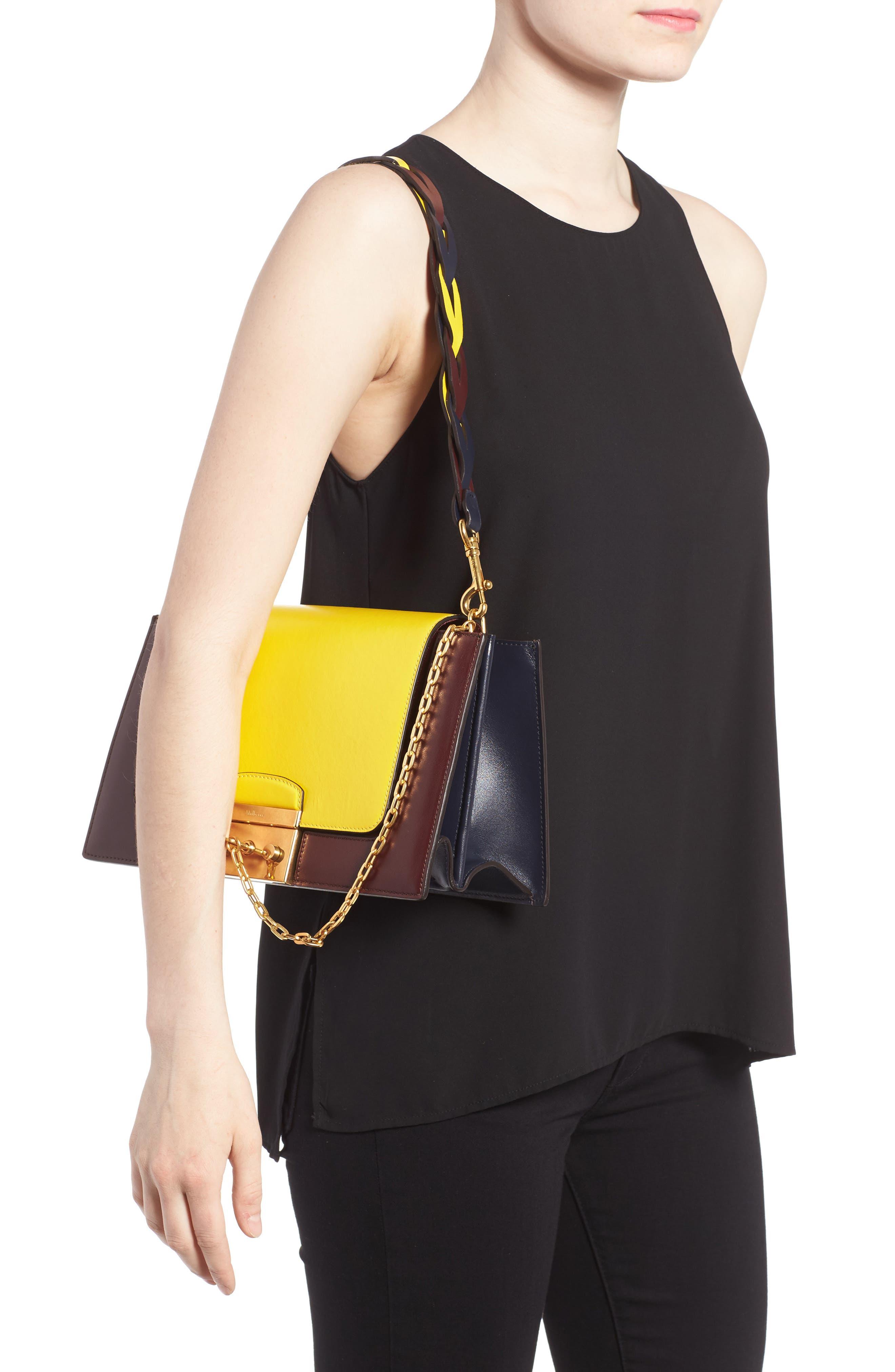 Alternate Image 2  - Mulberry Pembroke Color Block Leather Shoulder Bag