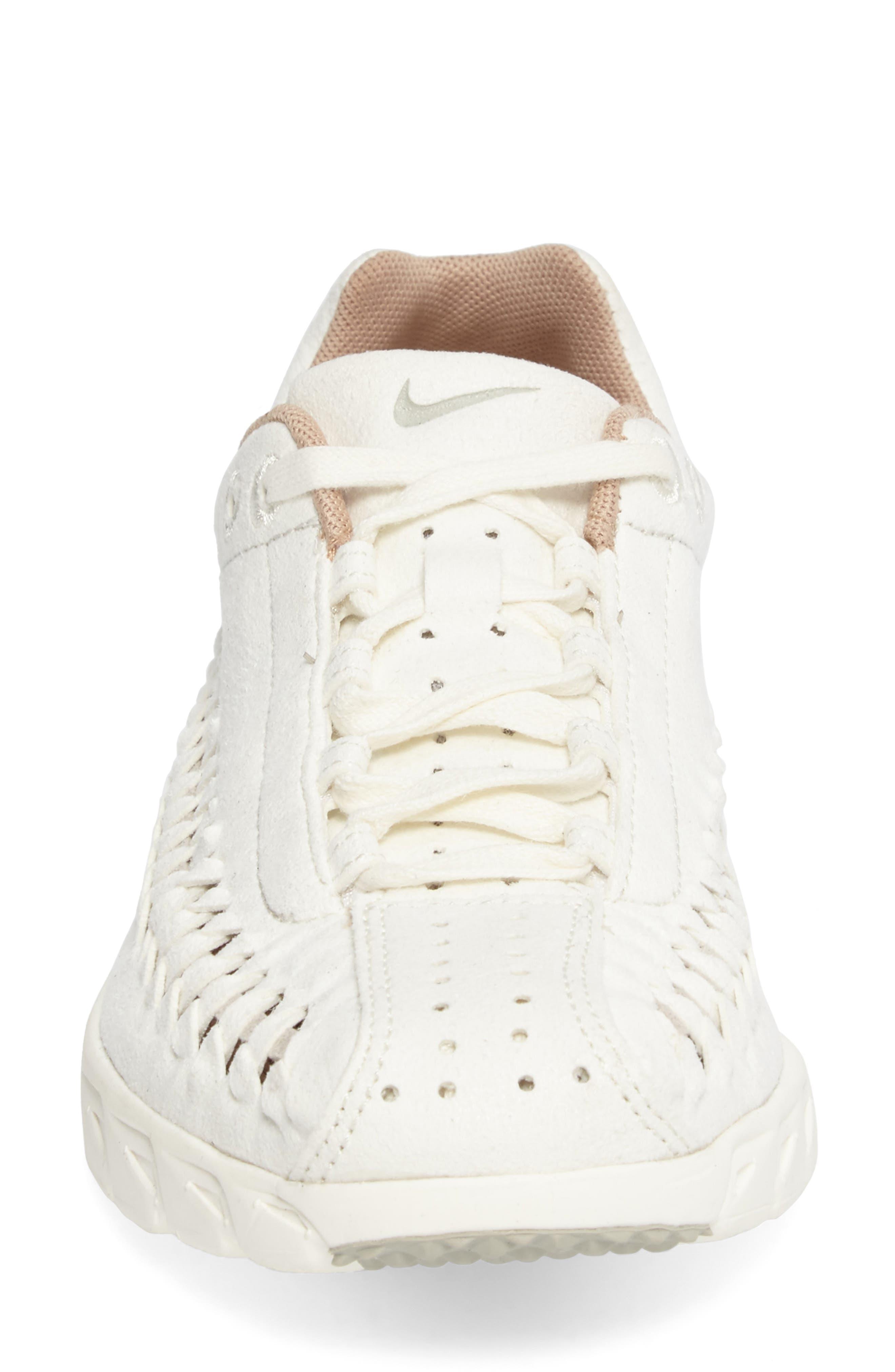 'Mayfly Woven' Sneaker,                             Alternate thumbnail 4, color,                             Sail/ Pale Grey/ Elm/ Sail