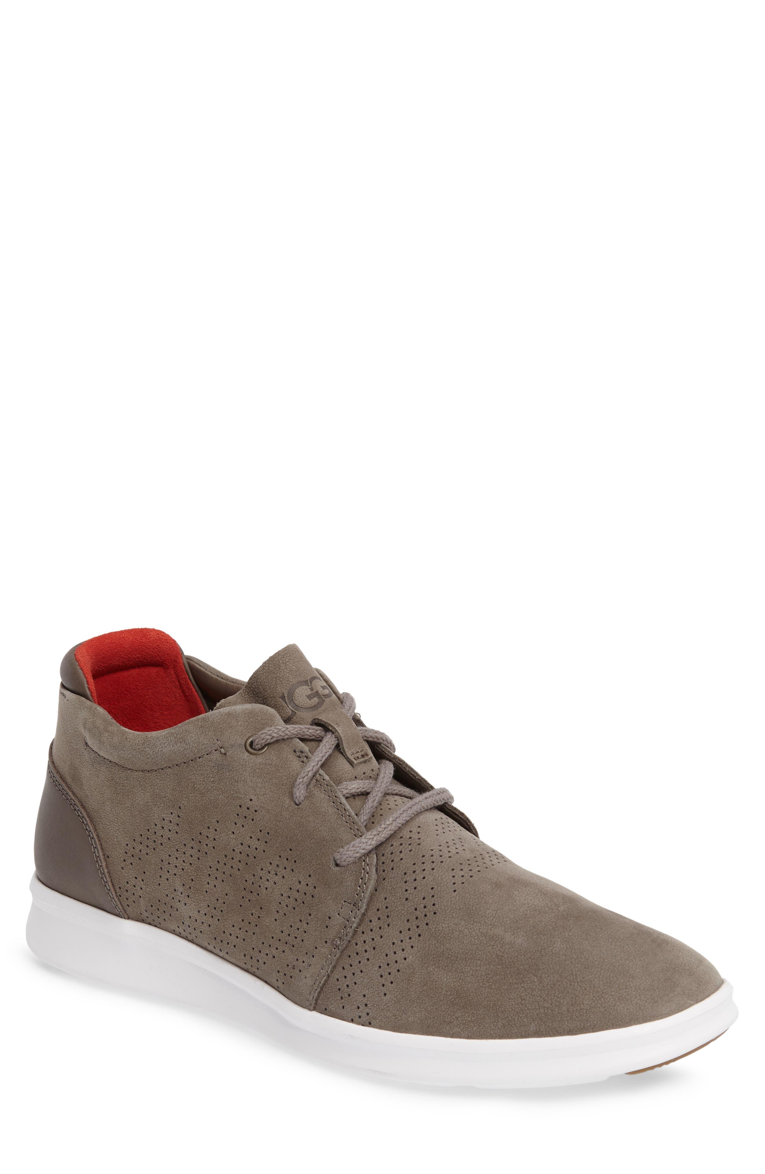 Larken Chukka Sneaker,                             Main thumbnail 1, color,                             Mole