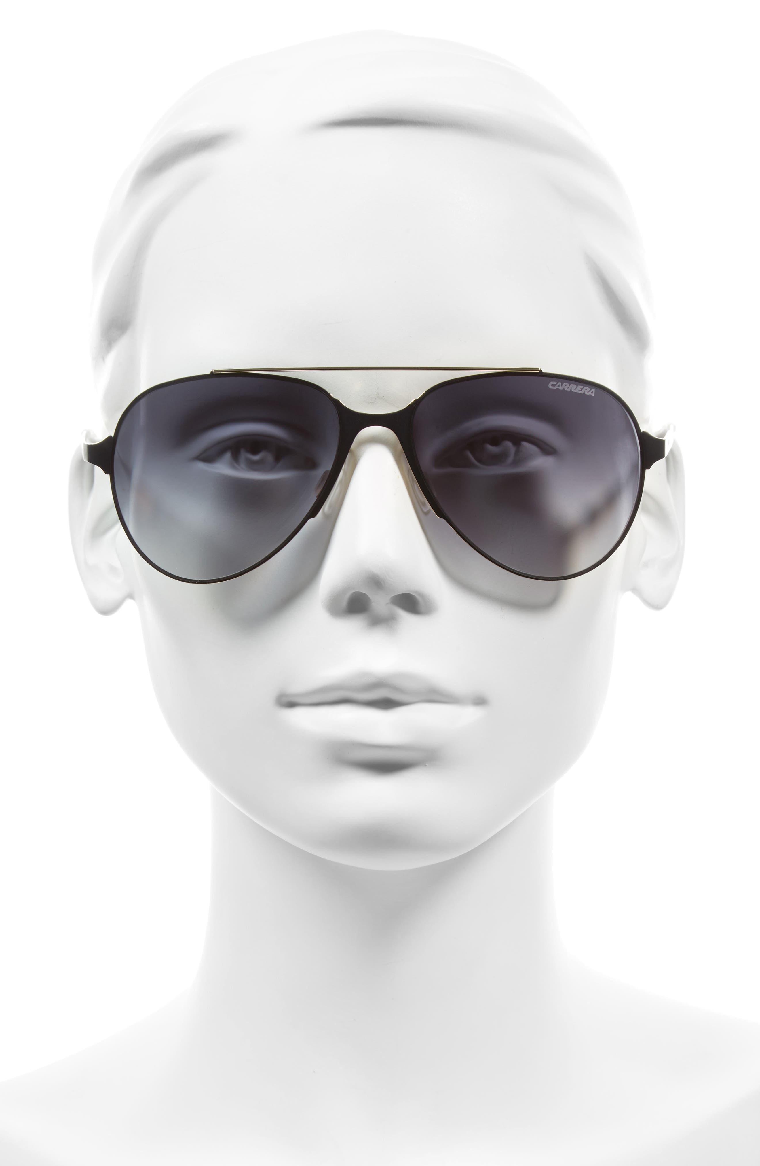 Alternate Image 2  - Carrera Eyewear 55mm Aviator Sunglasses