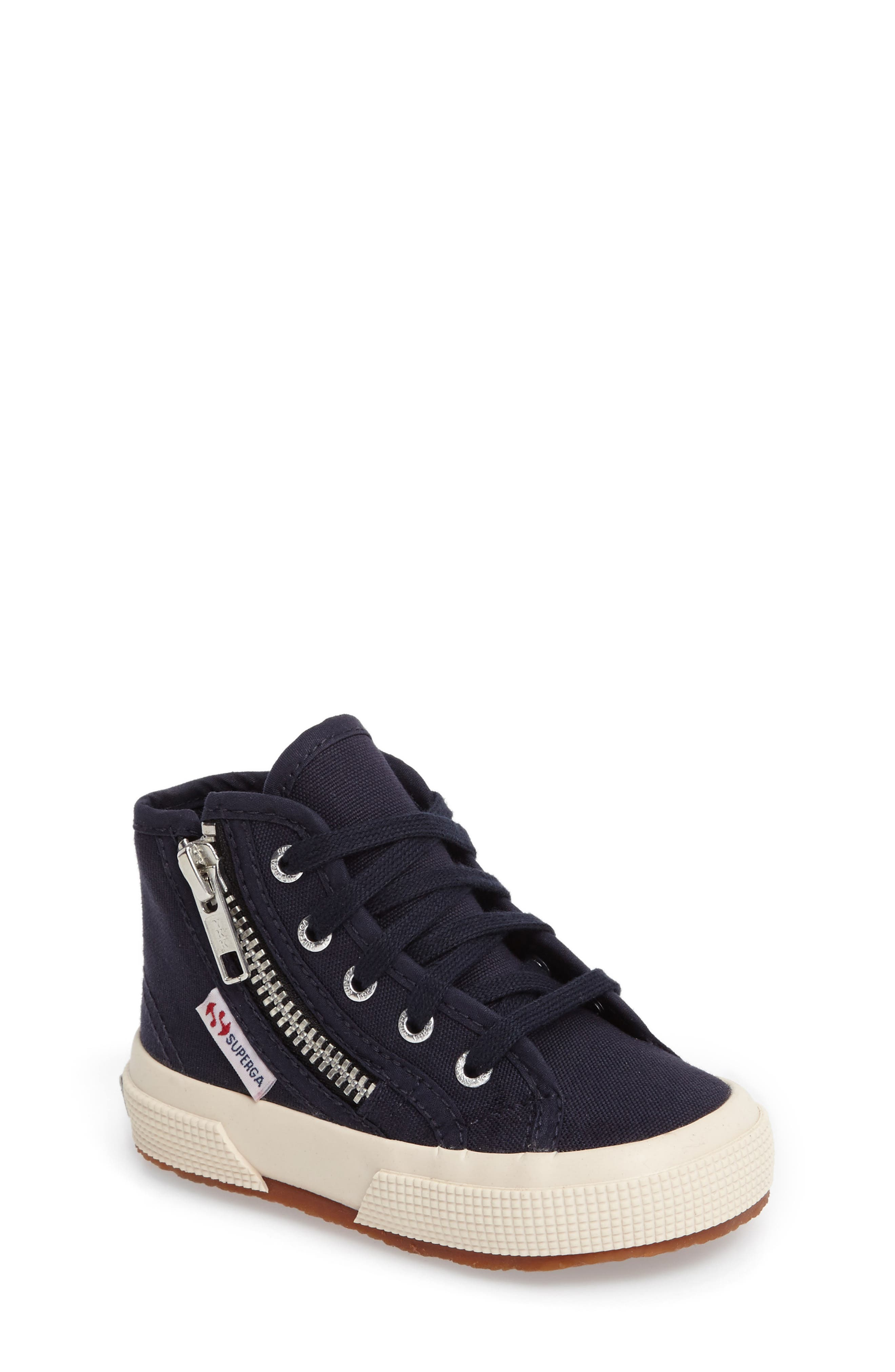Superga Zip High Top Sneaker (Walker, Toddler & Little Kid)