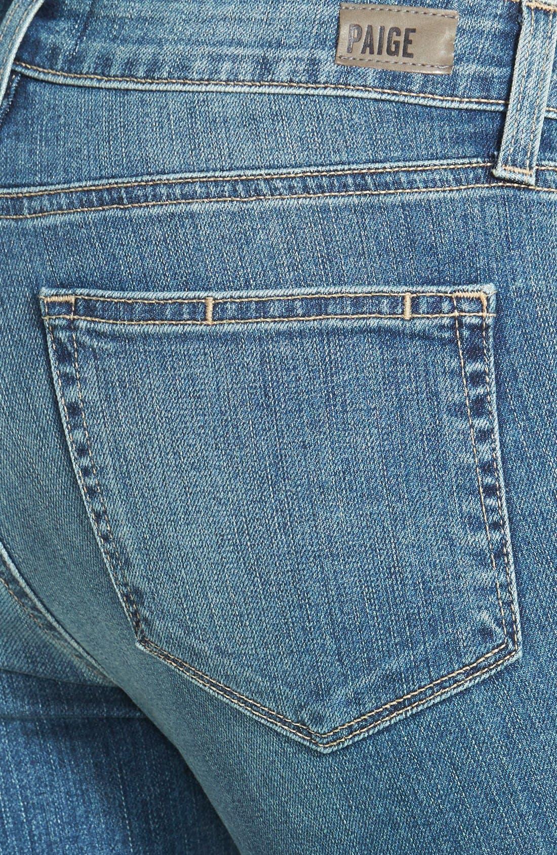 Alternate Image 3  - Paige Denim 'Verdugo' Ultra Skinny Jeans (Dazeley Destructed)