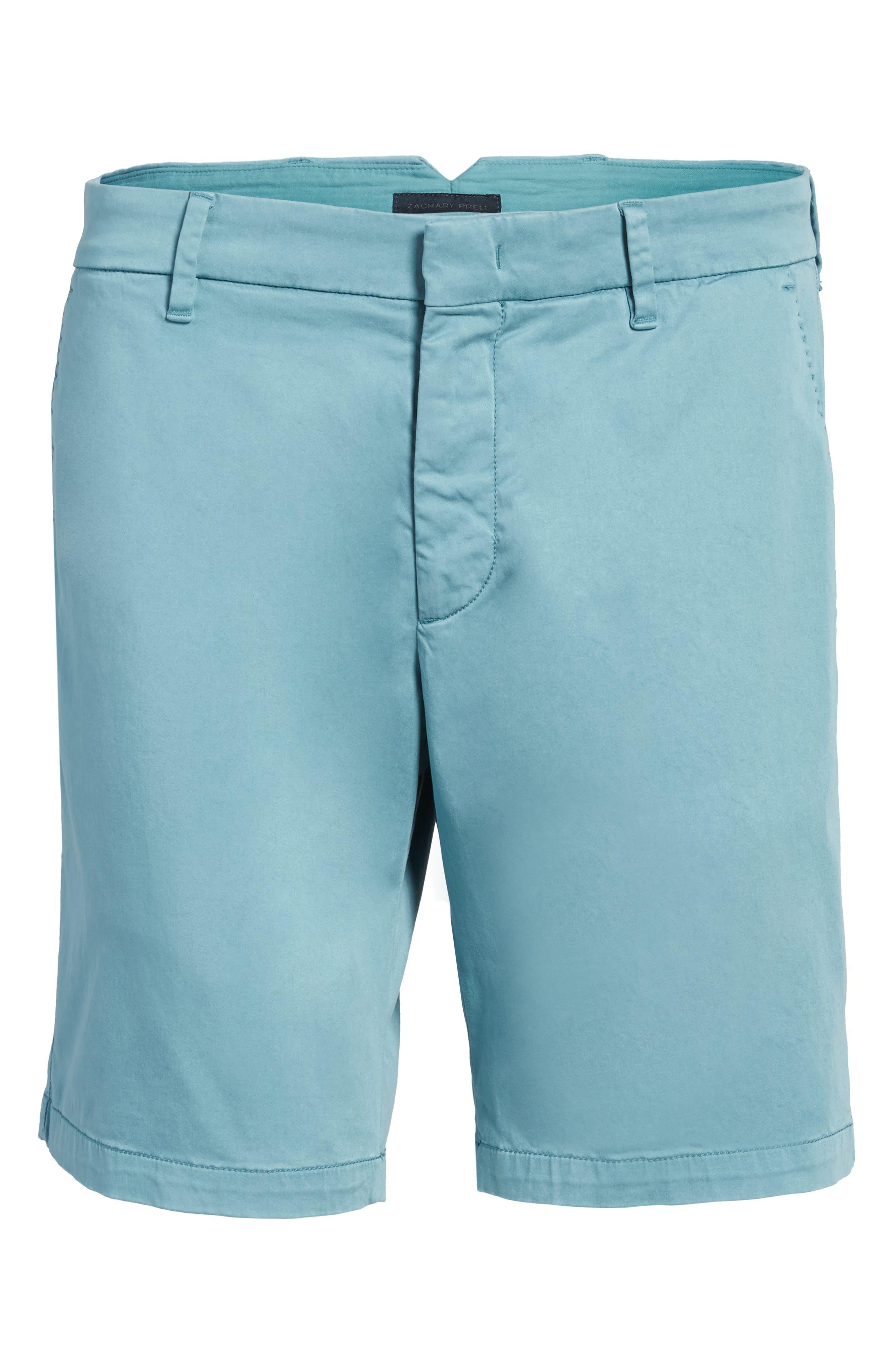 Catalpa Shorts,                             Alternate thumbnail 6, color,                             Teal