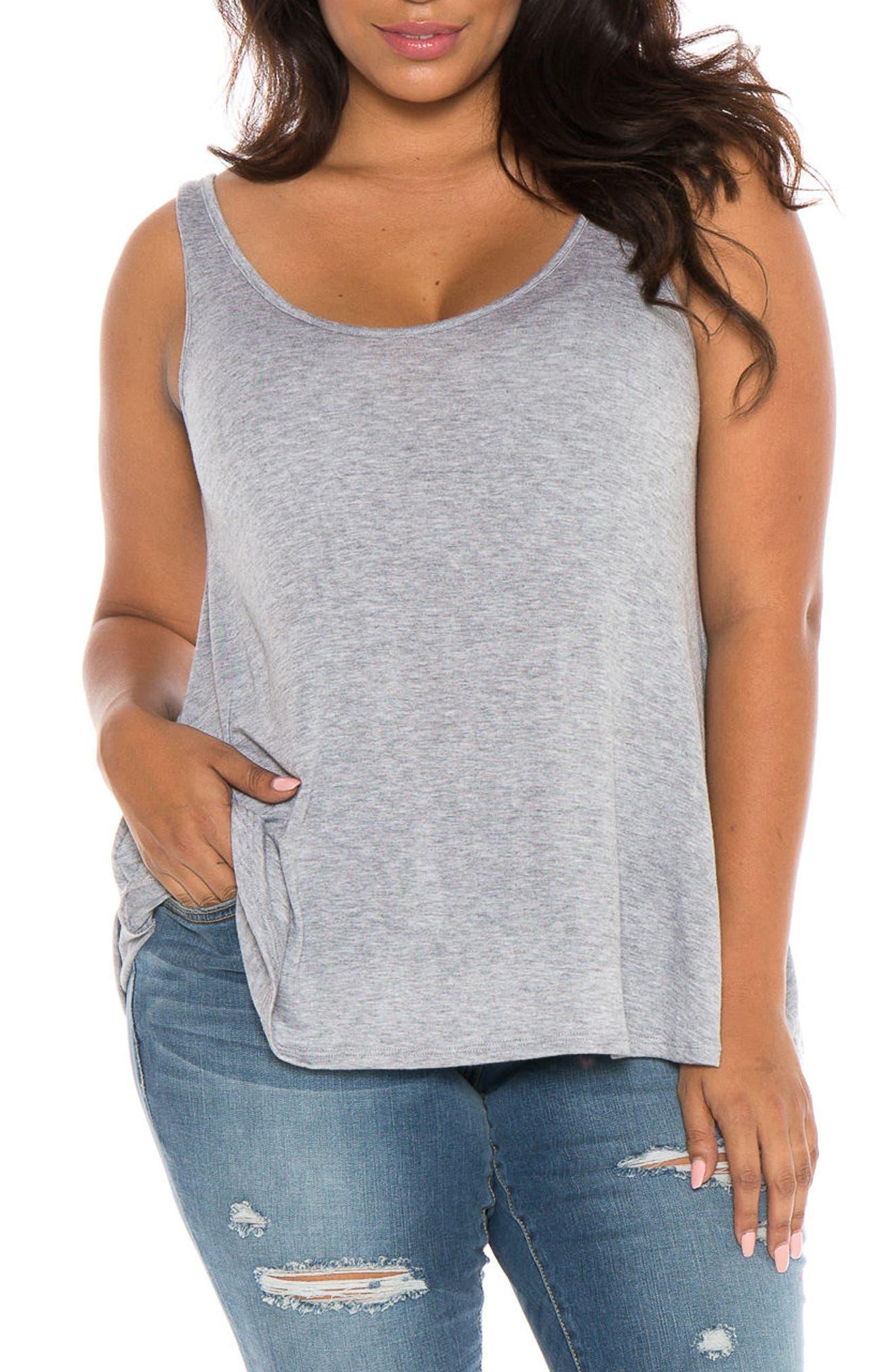 SLINK Jeans Tank (Plus Size)