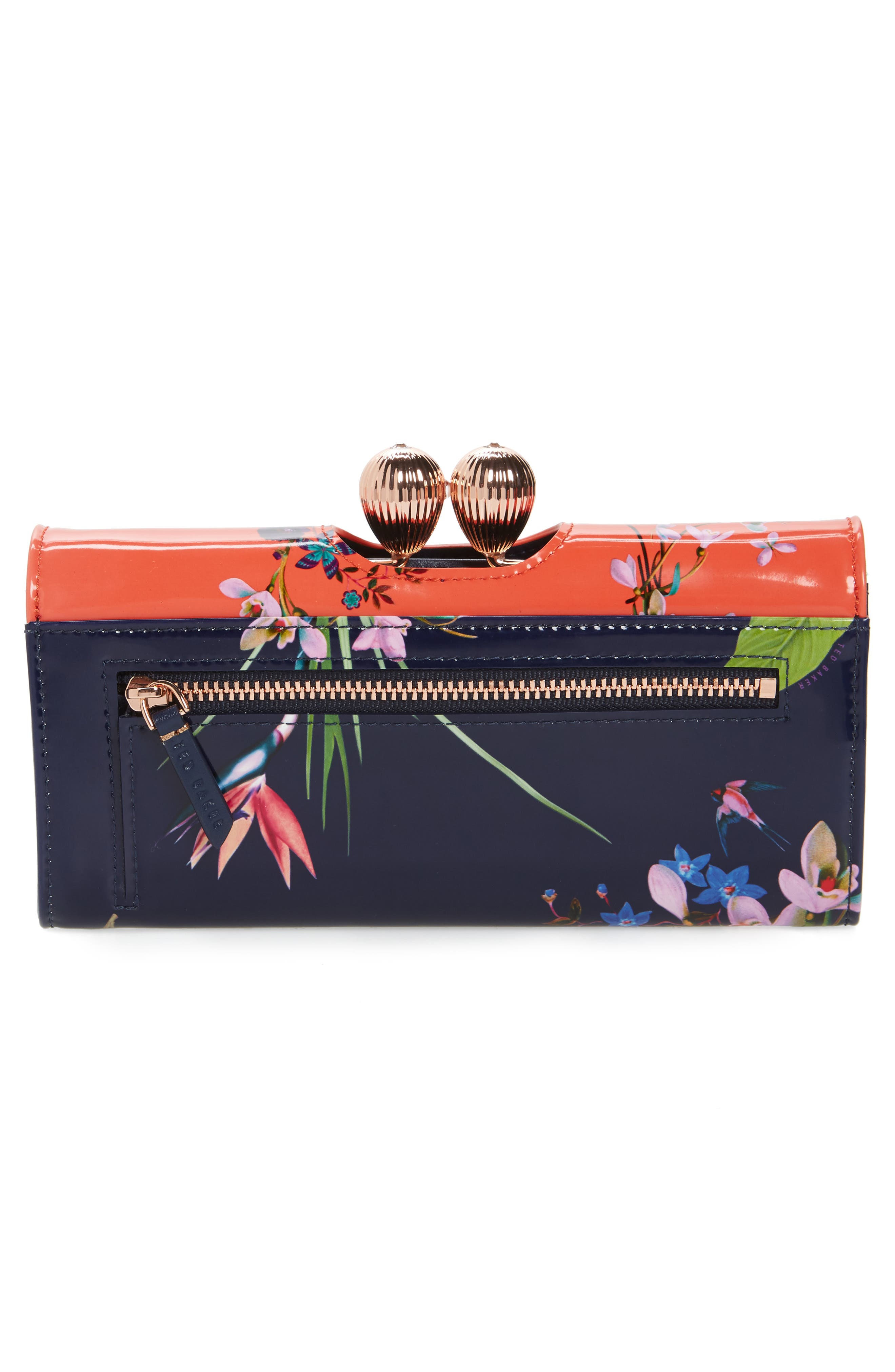 Alternate Image 2  - Ted Baker London Odd Bobble Leather Matinée Wallet
