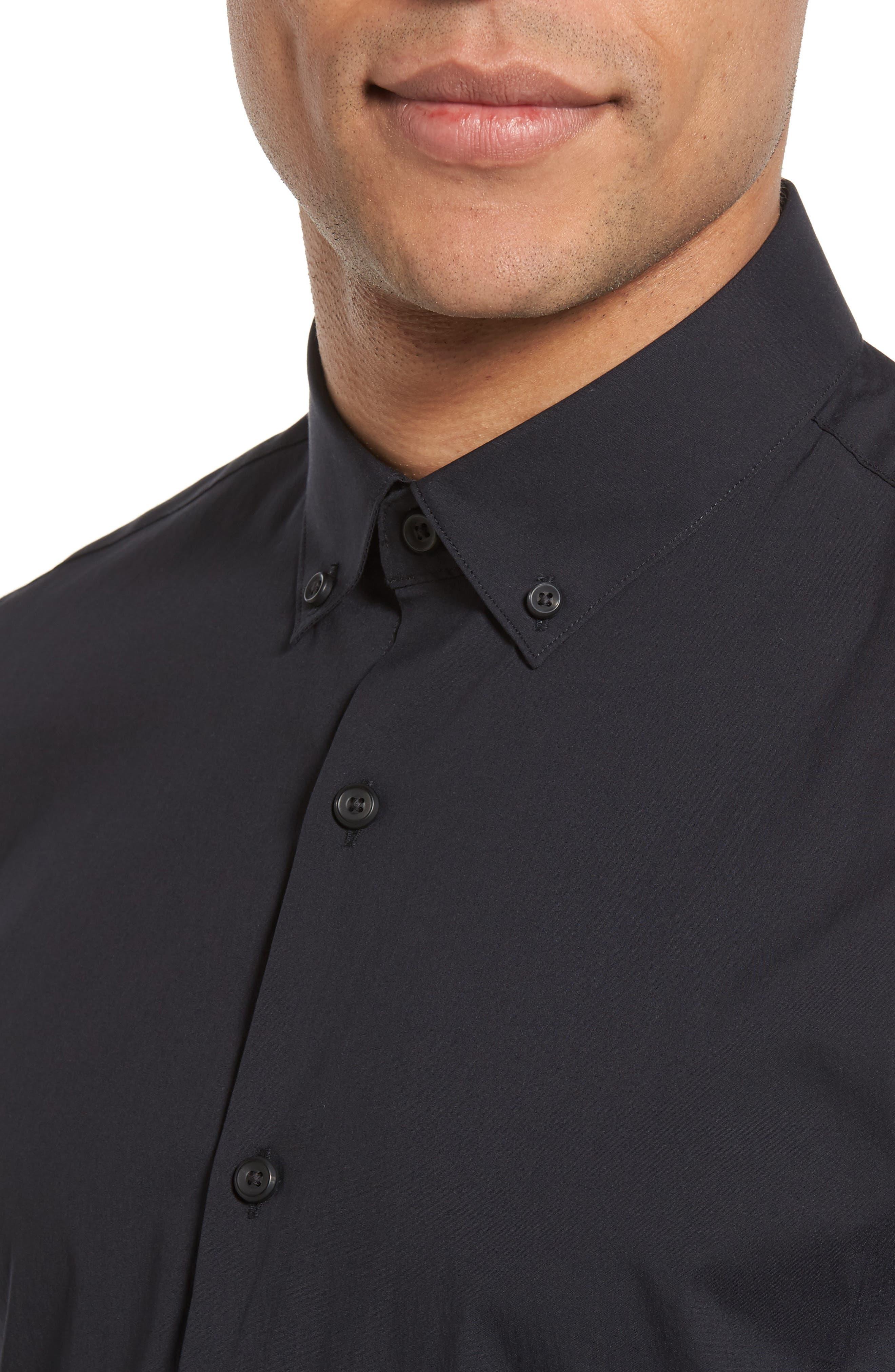 Alternate Image 4  - Calibrate Trim Fit Stretch Woven Sport Shirt
