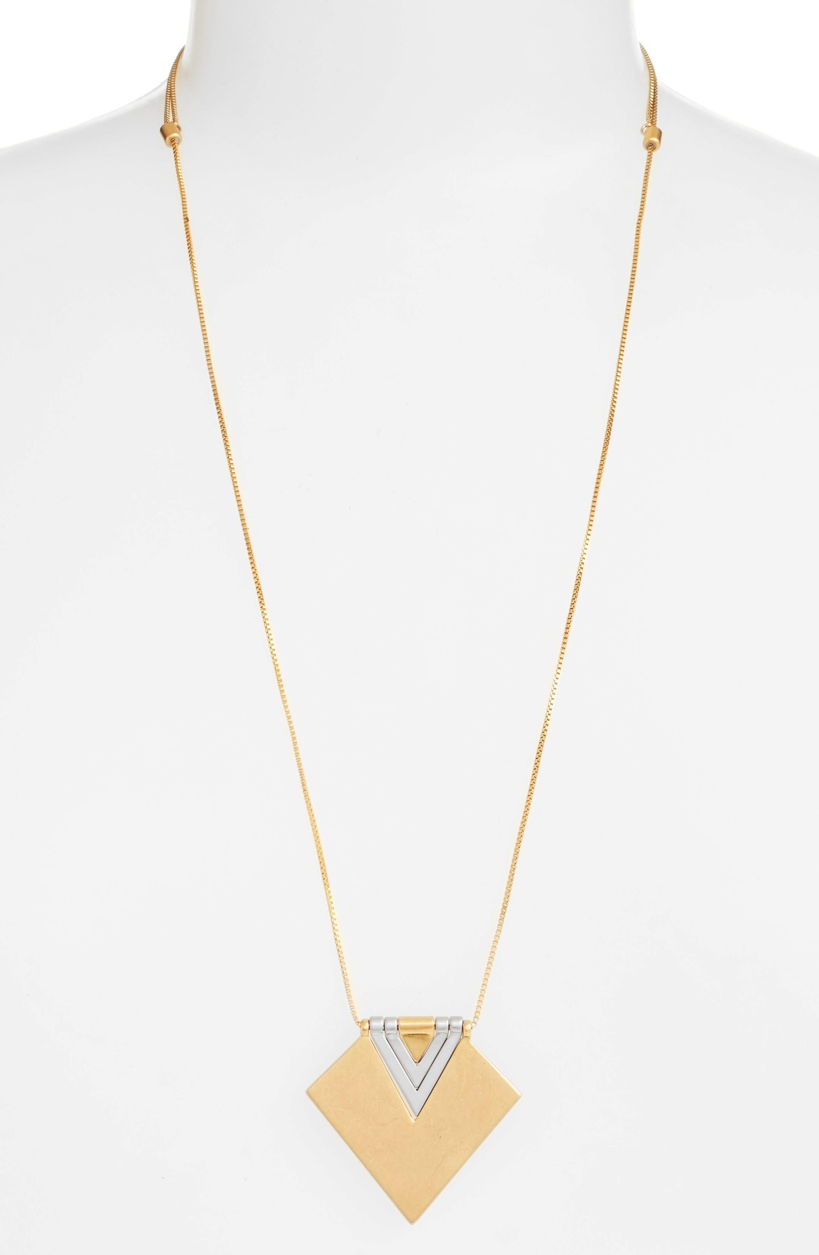 MADEWELL Angleflip Pendant Necklace