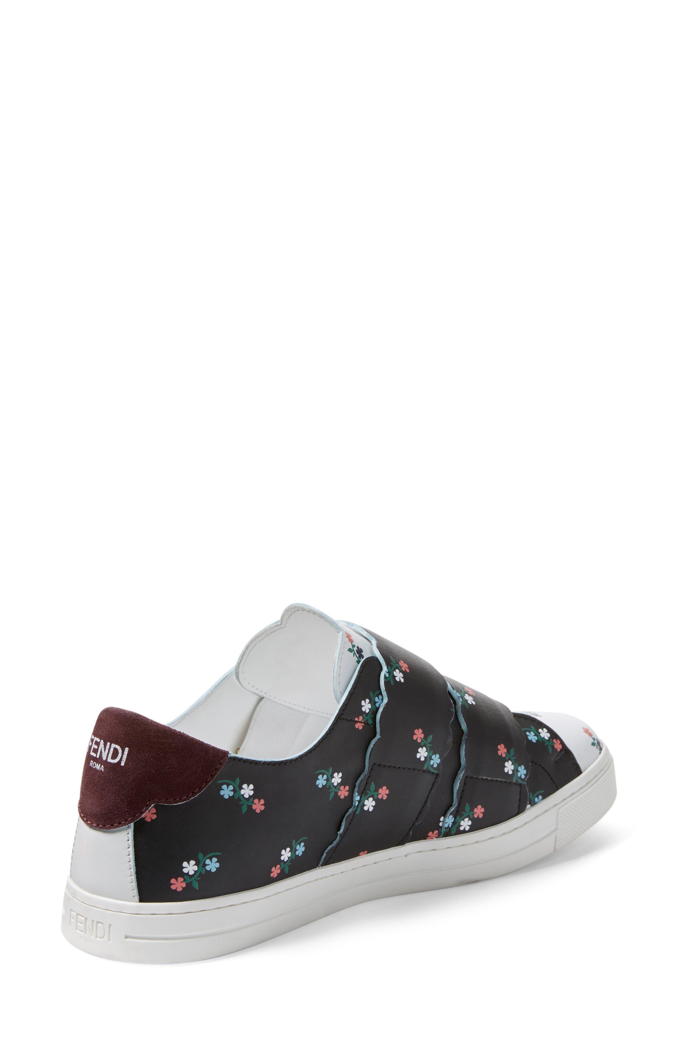 Alternate Image 2  - Fendi Scallop Sneaker (Women)