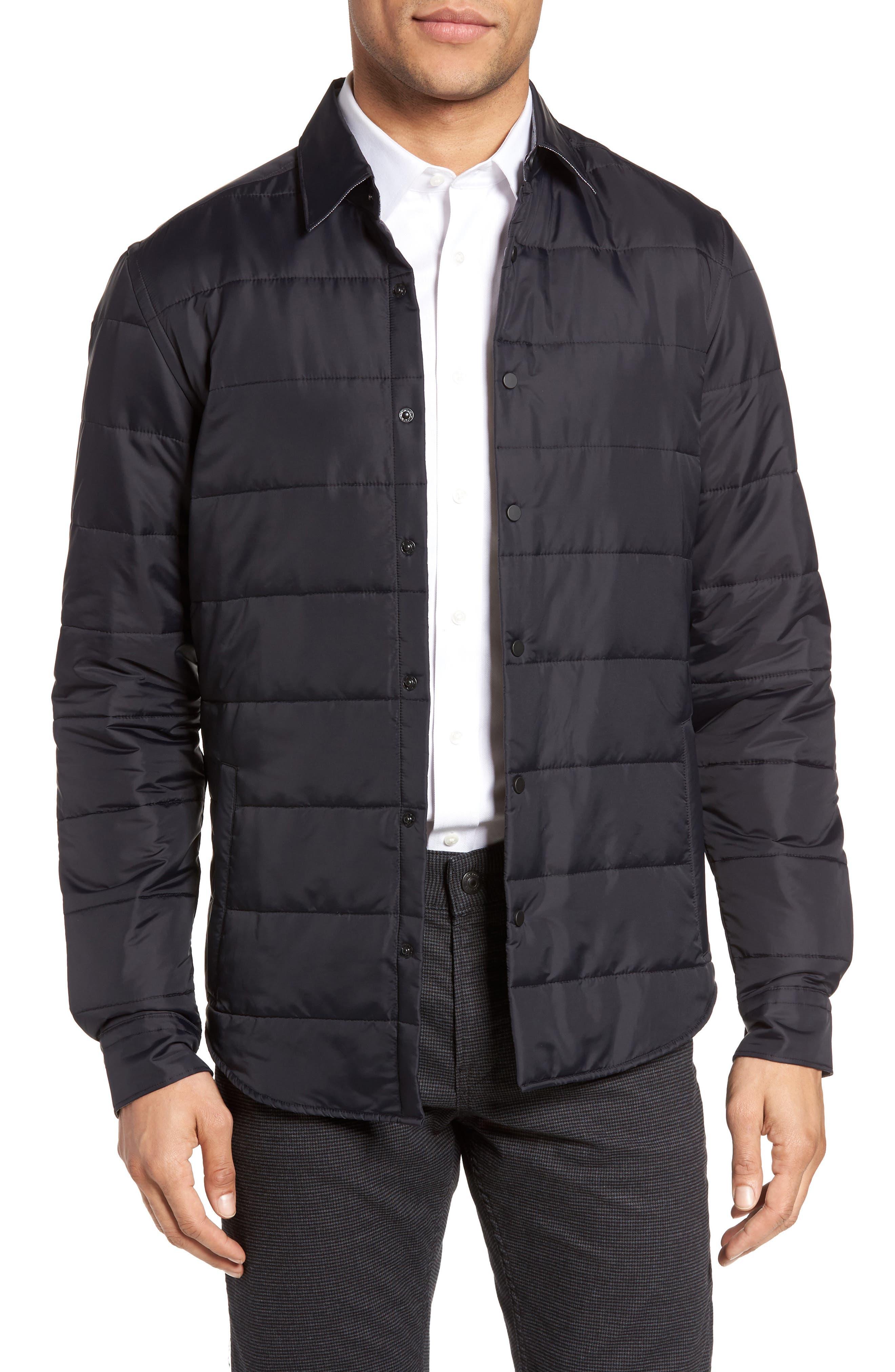BOSS Landolfo Quilted Shirt Jacket