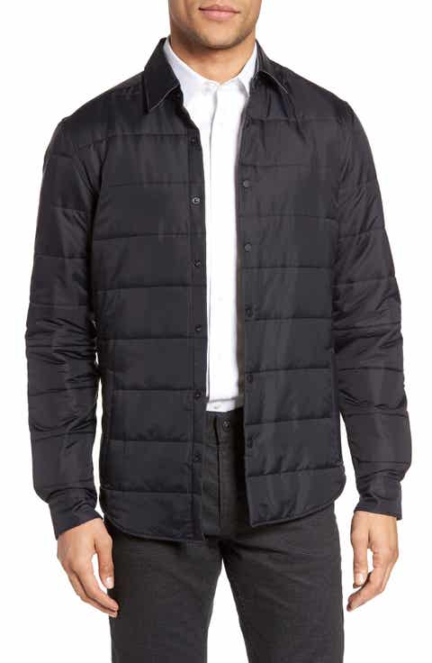 Men's Shirt Jacket Quilted, Puffer & Down Jackets | Nordstrom : mens quilted shirt - Adamdwight.com