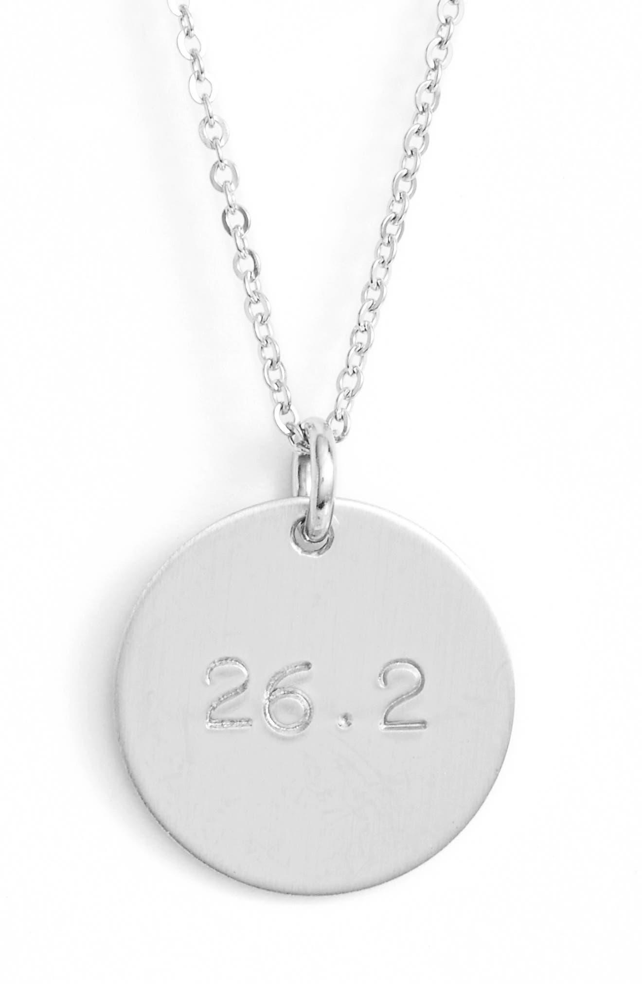 Nashelle Marathon Pendant Necklace