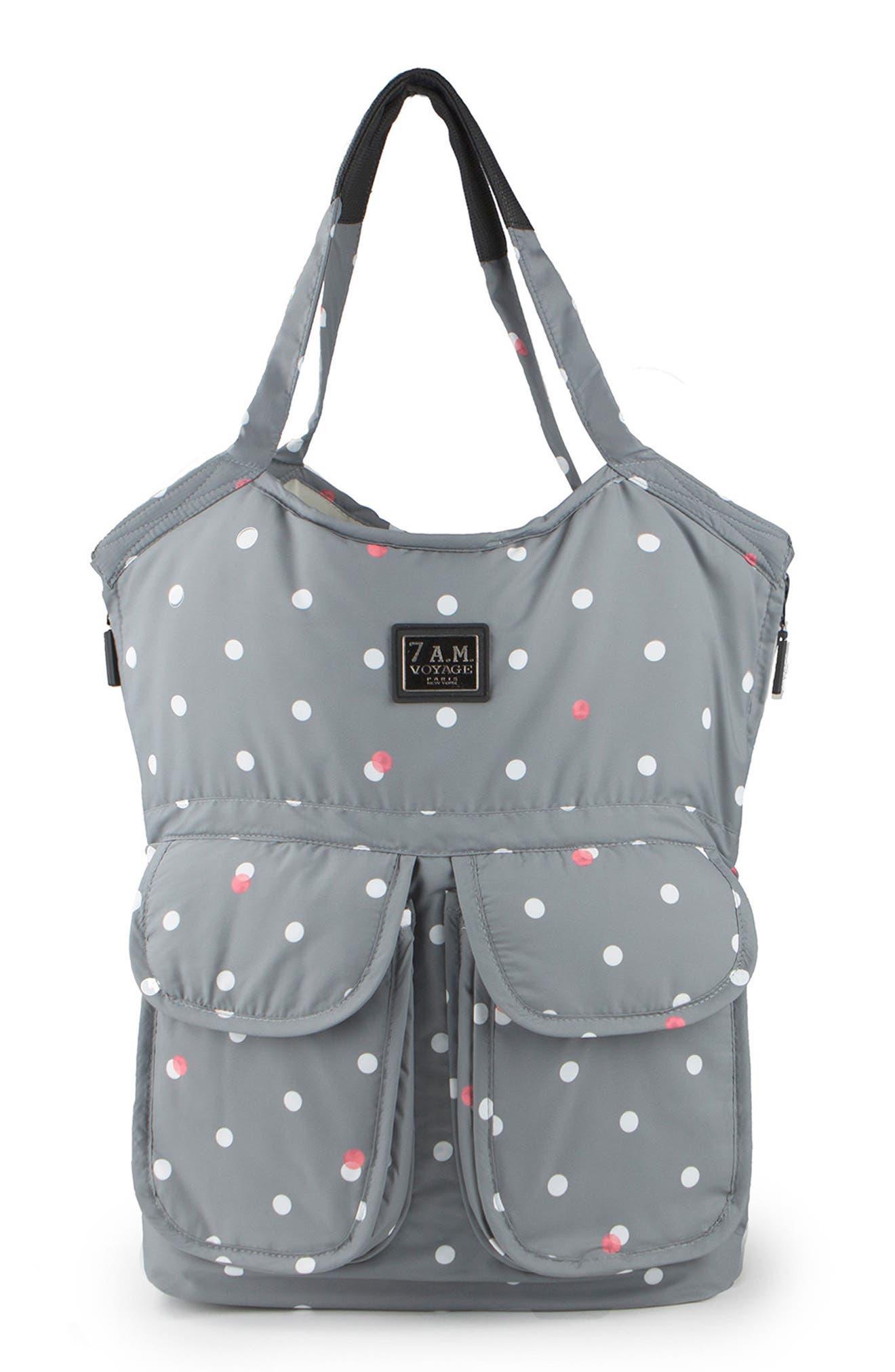 Alternate Image 1 Selected - 7 A.M. Enfant 'Barcelona' Diaper Bag