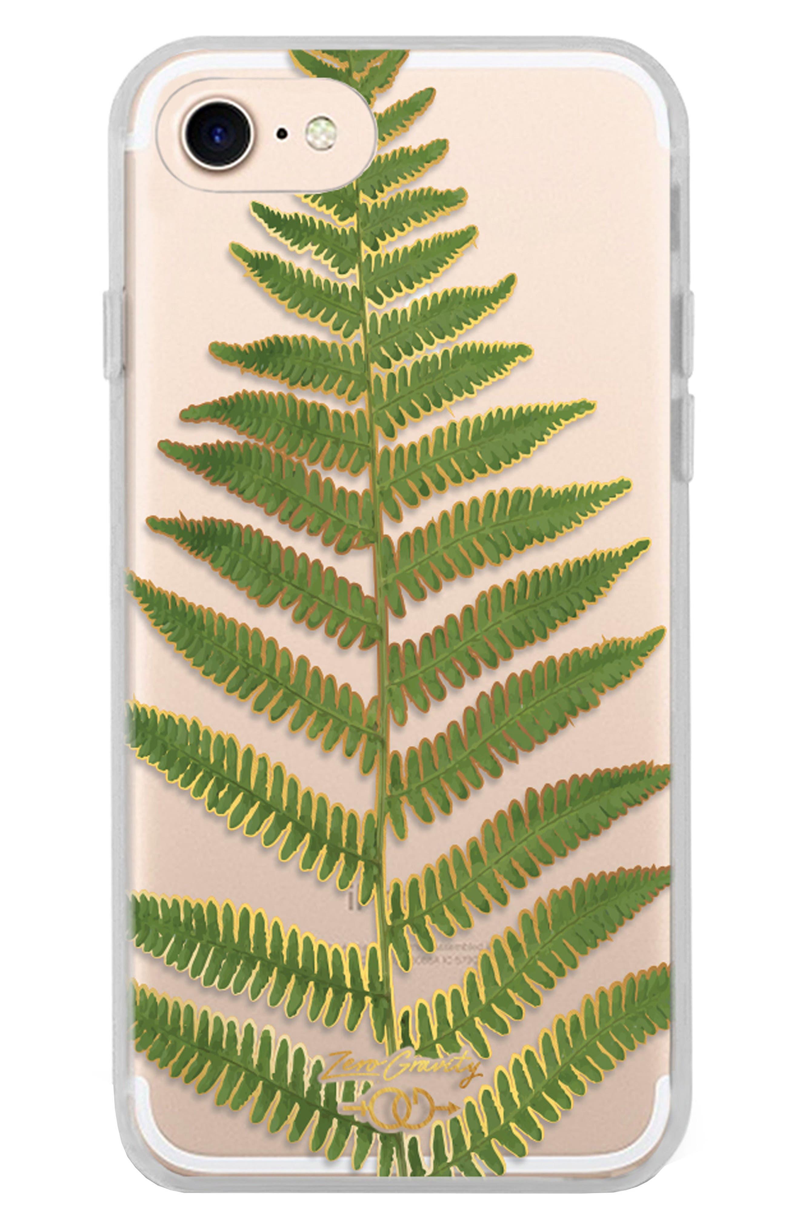 Leaf iPhone 7/8 & 7/8 Plus Case,                             Main thumbnail 1, color,                             Green Multi