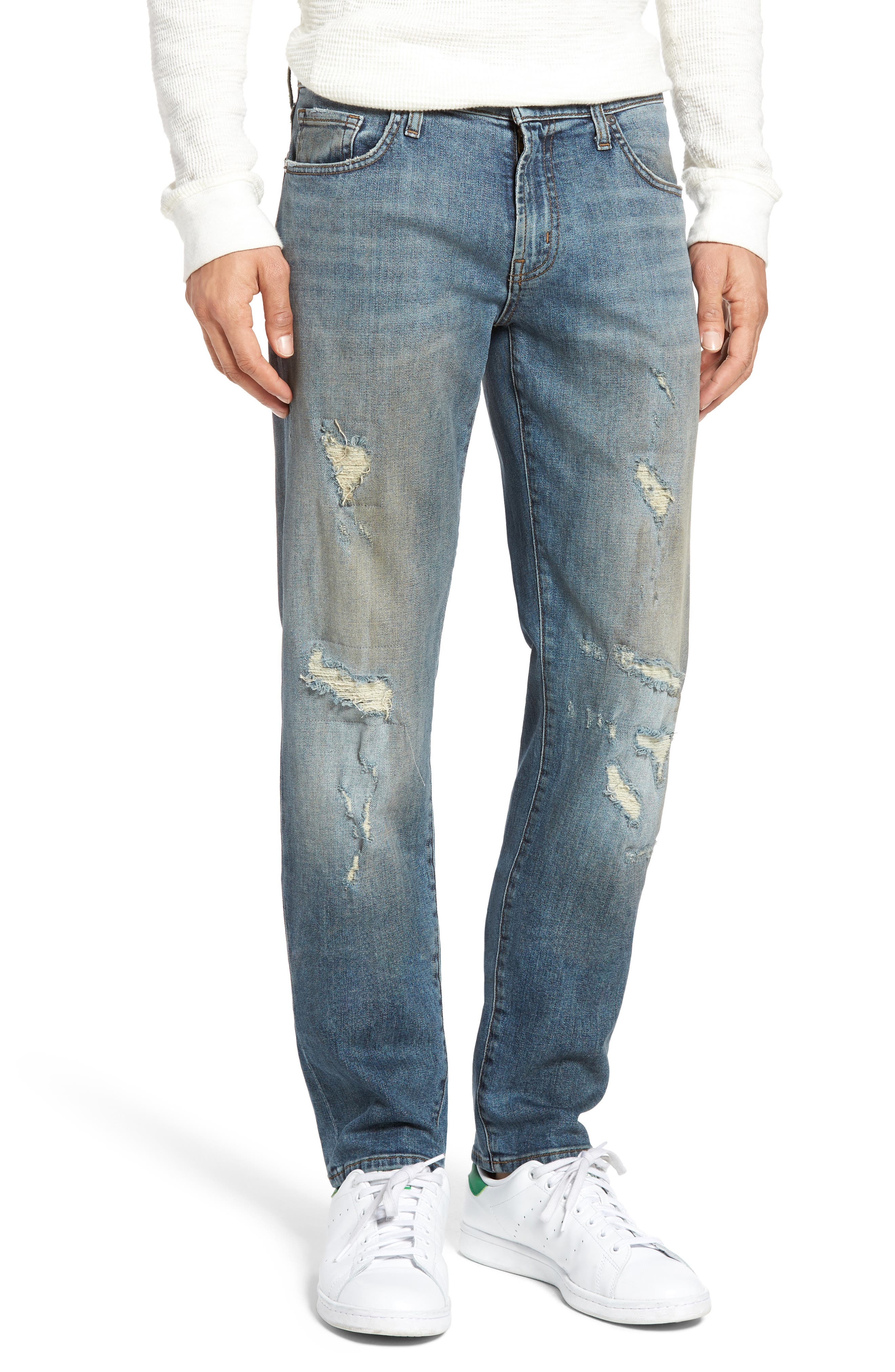 J Brand Tyler Tapered Slim Fit Jeans (Teritus)
