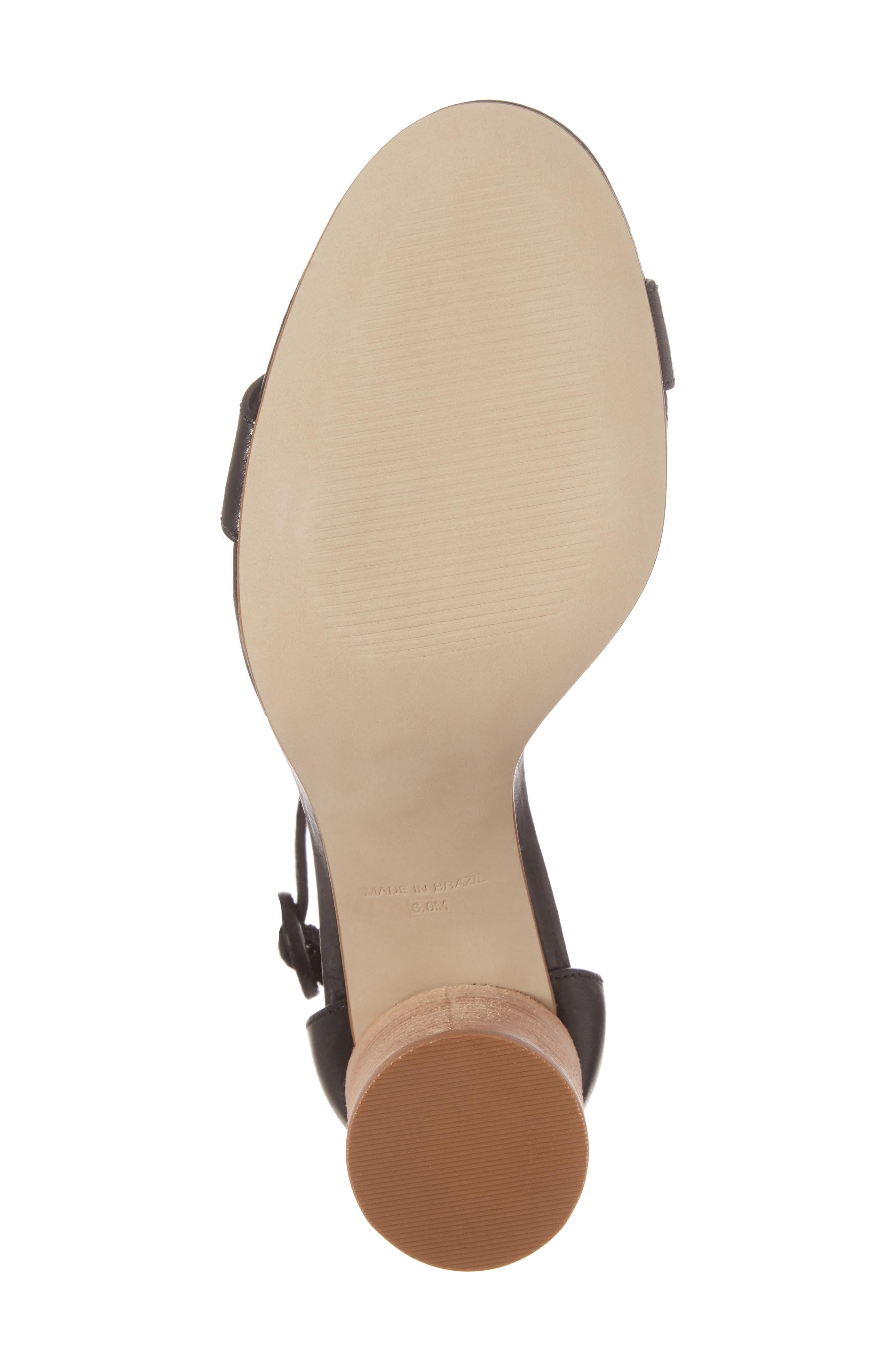 Alternate Image 6  - Steve Madden Sara Column Heel Sandal (Women)