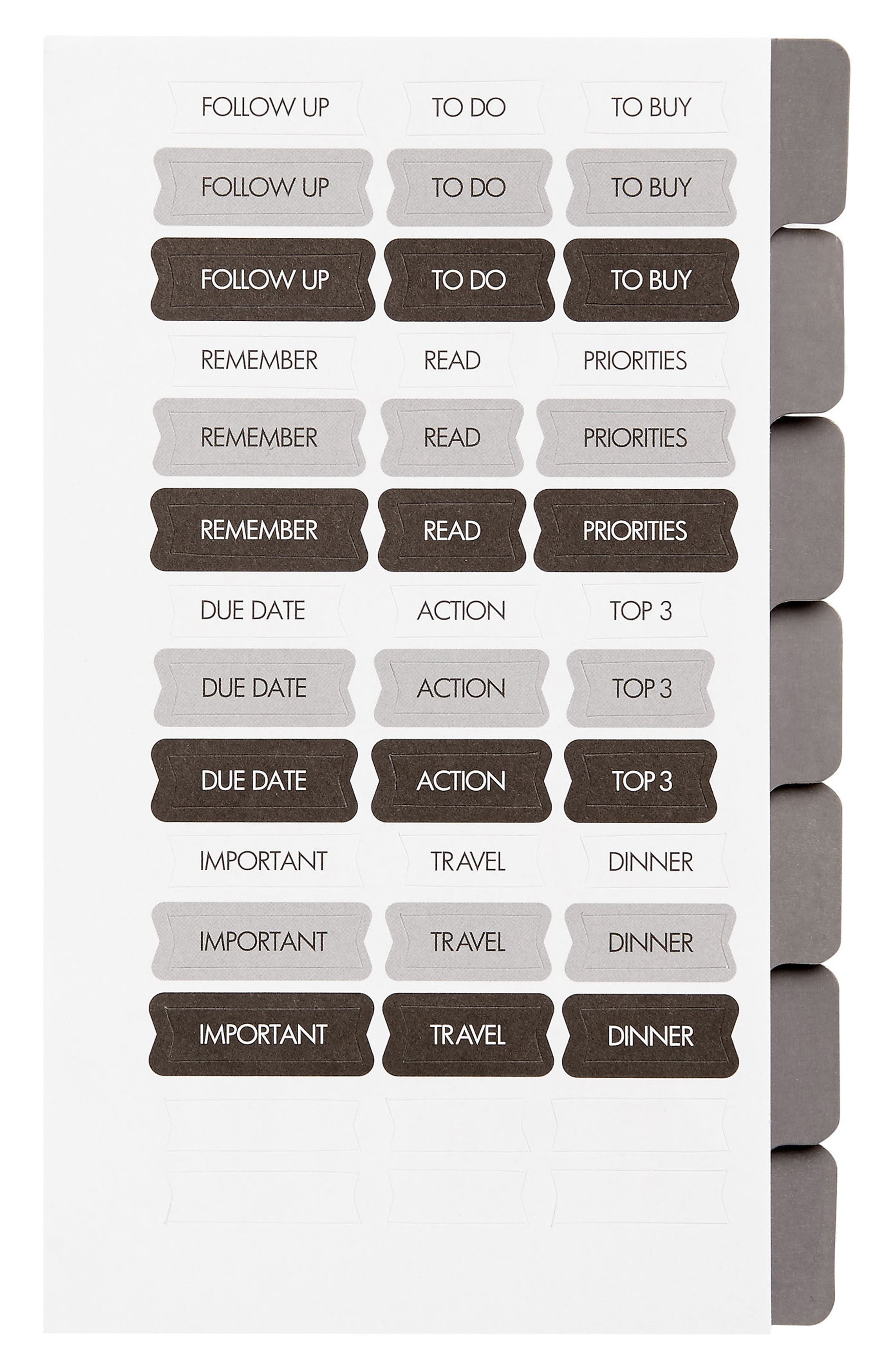 Personal Planner Refills,                             Main thumbnail 1, color,                             White