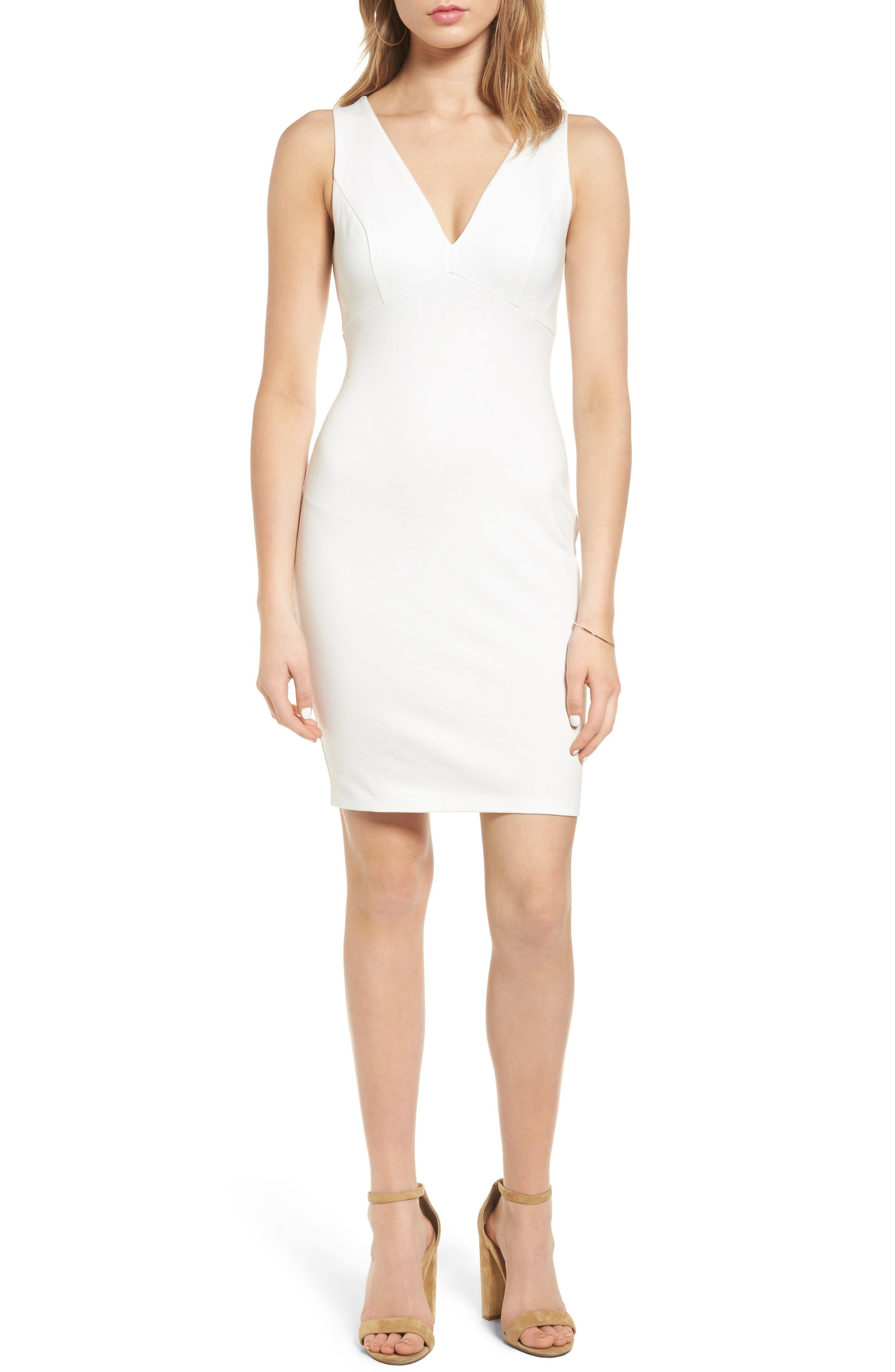 Soprano Cross Back Body-Con Dress